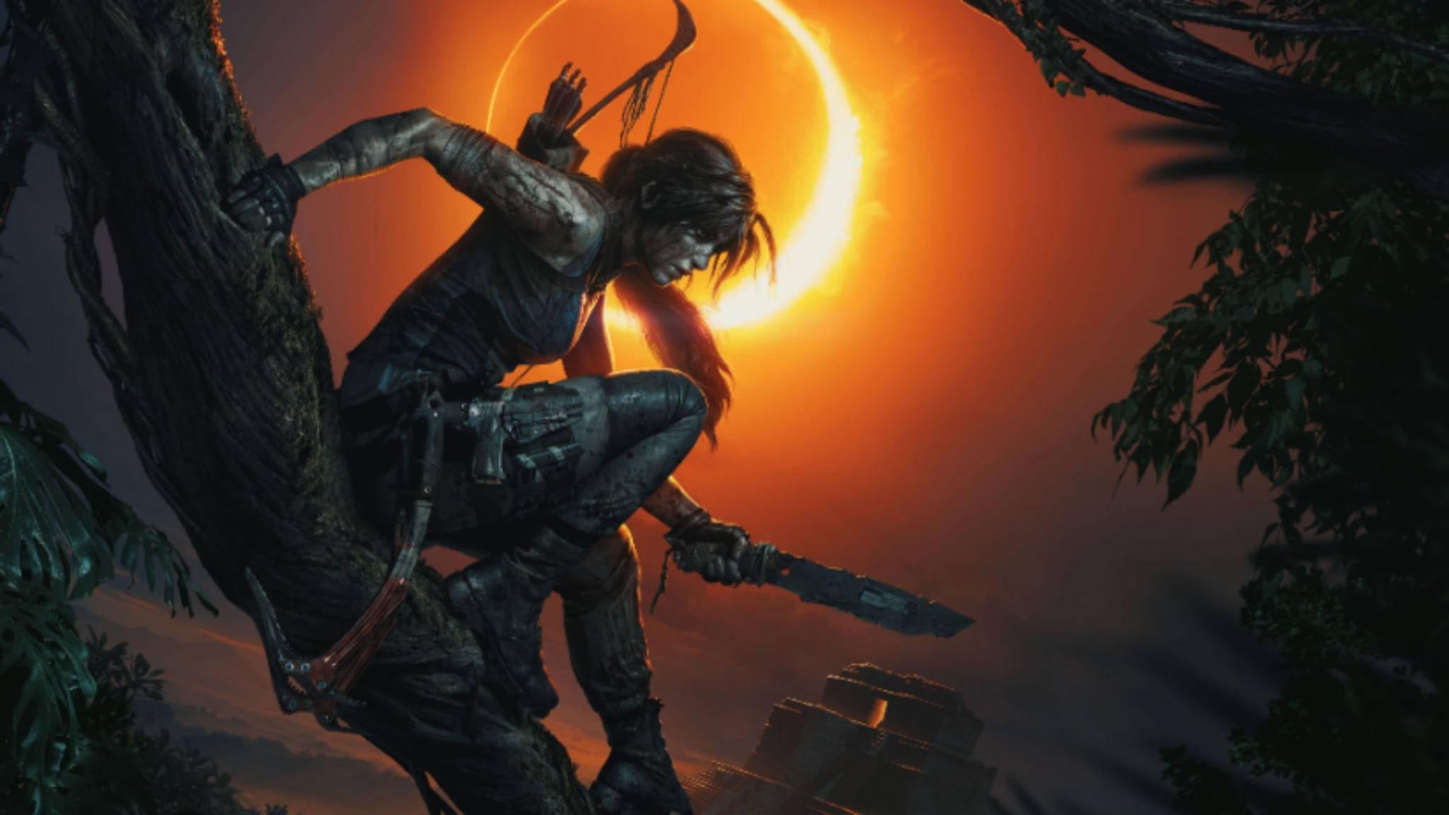 """""""Shadow of the Tomb Raider"""": Lara Croft im Zeichen der Eklipse."""