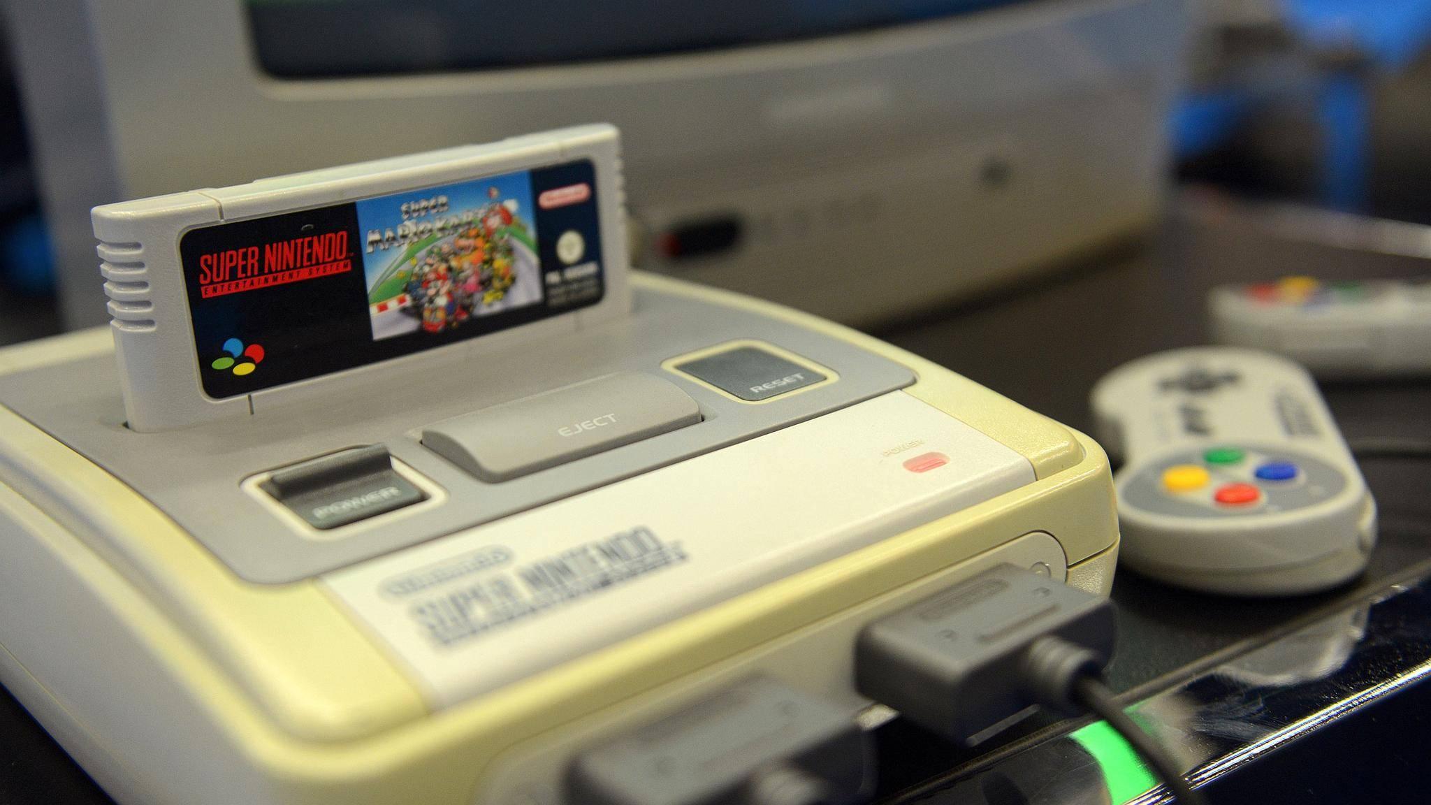 snes-konsole-controller-mario-kart