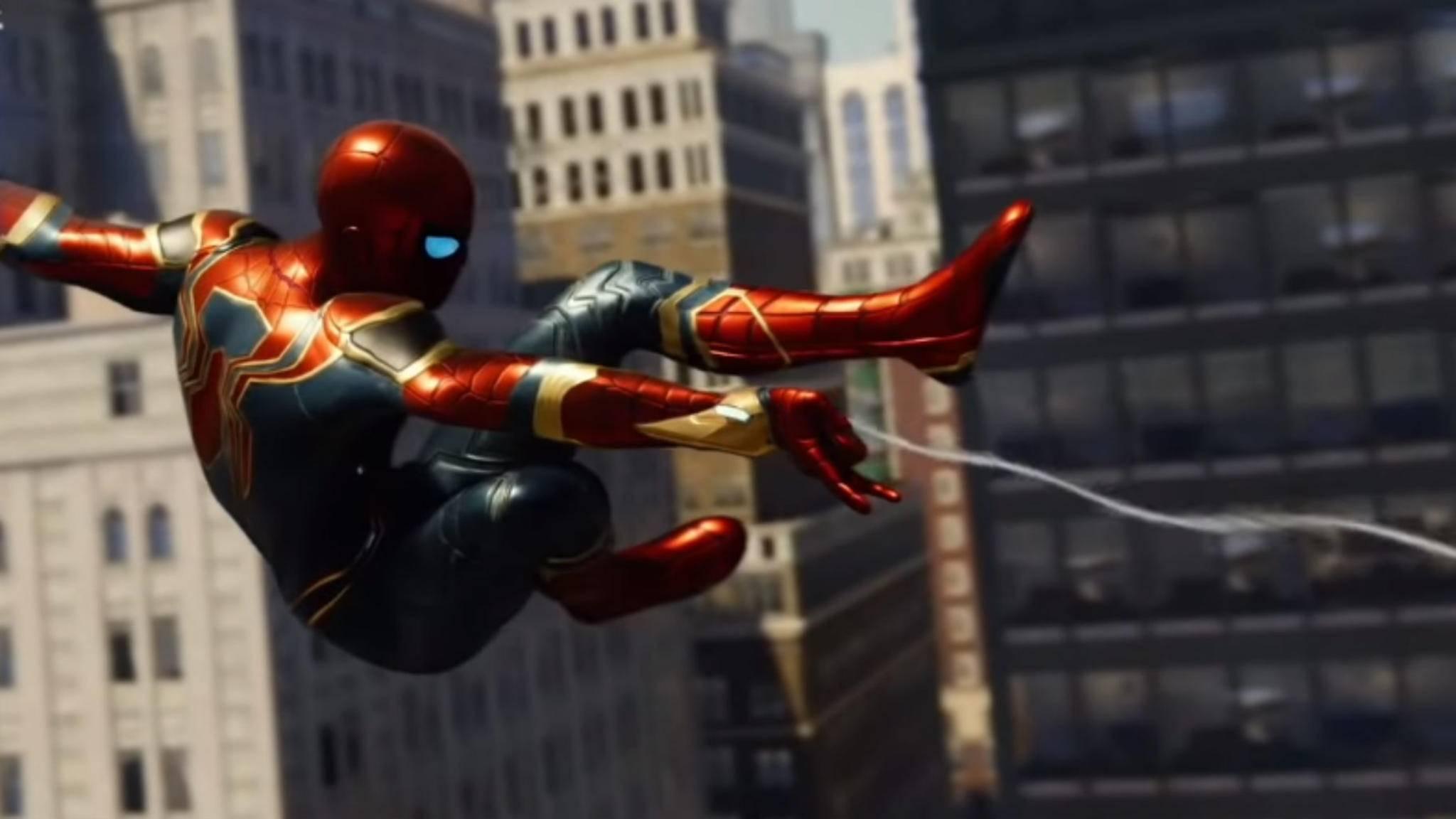 """In """"Marvel's Spider-Man"""" gibt es unterschiedliche Ressourcenmarken."""