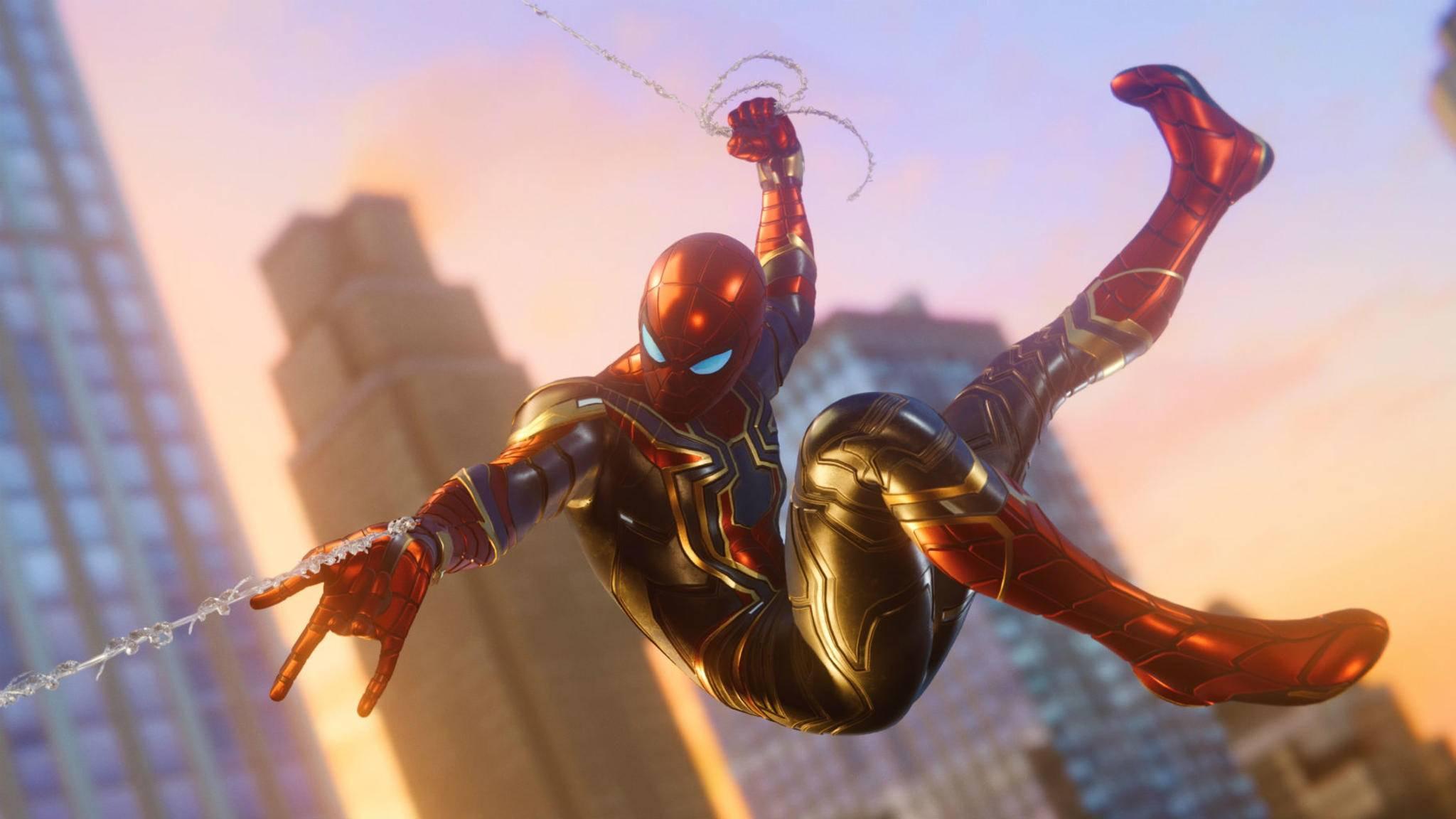 """New Game Plus lohnt zum erneuten Erkunden der Spielwelt von """"Marvel's Spider-Man"""" ein."""