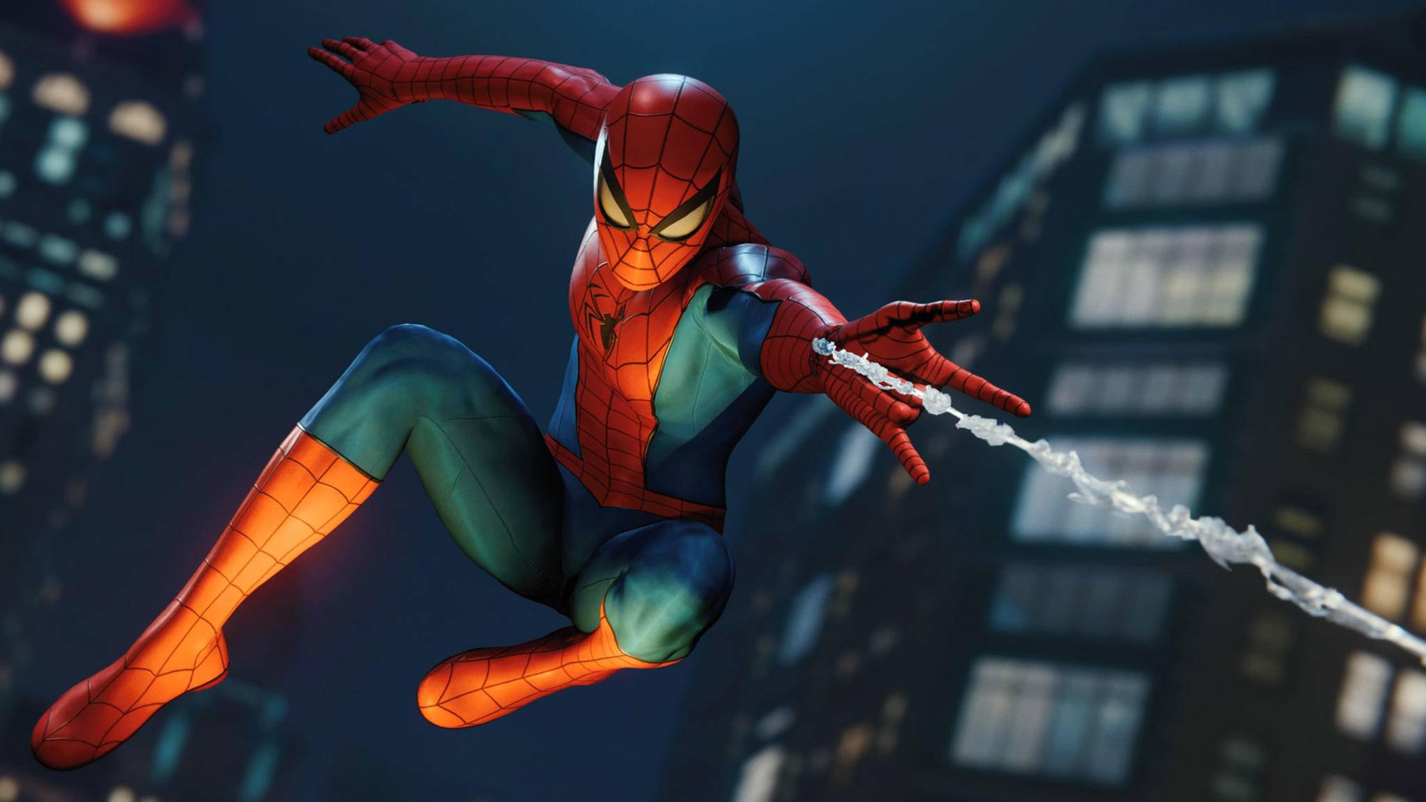"""In """"Marvel's Spider-Man"""" ist Peter Parker immer auf dem Sprung."""
