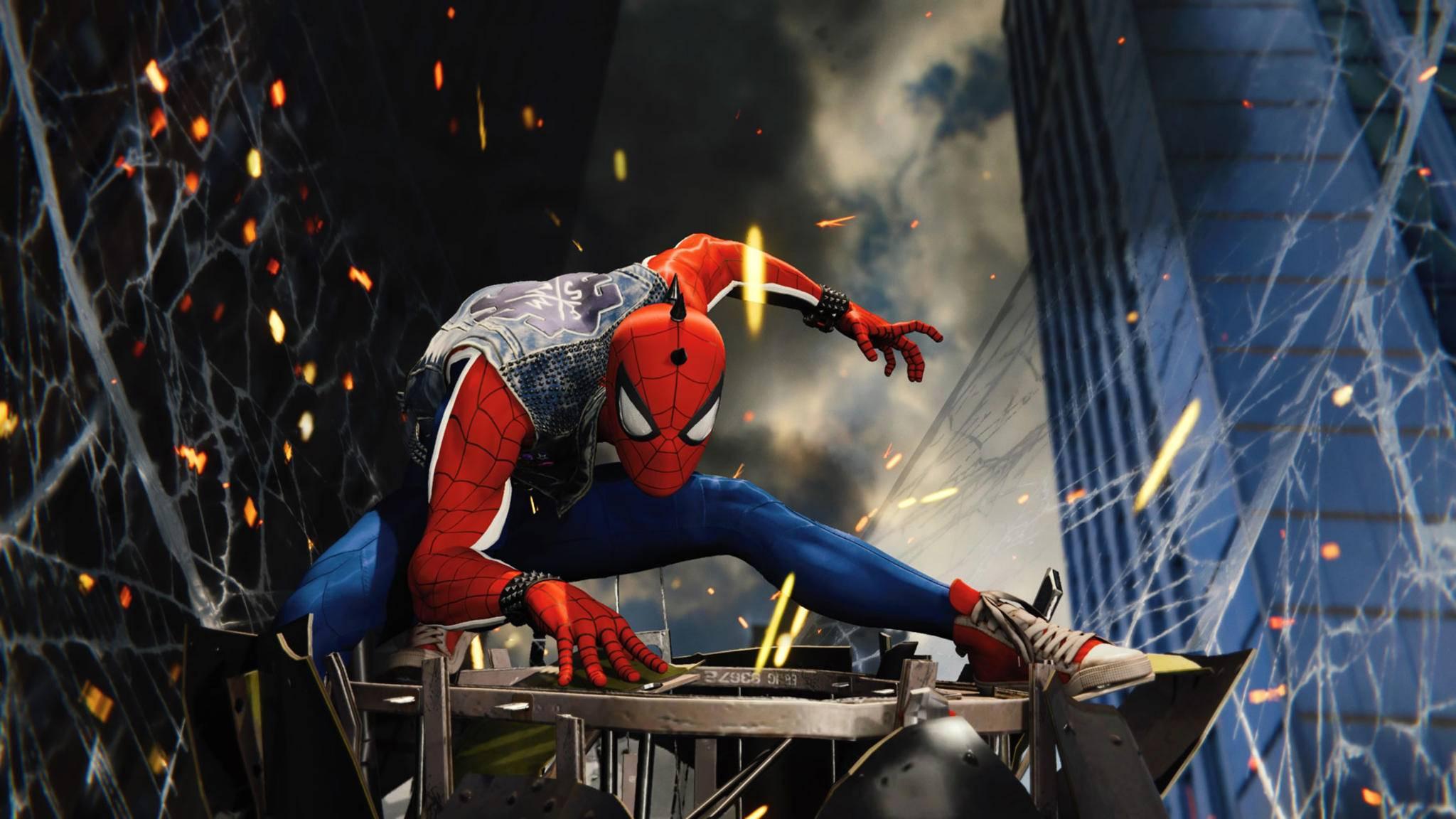 """""""Marvel's Spider-Man"""" lässt sich in vielerlei Hinsicht individualisieren."""