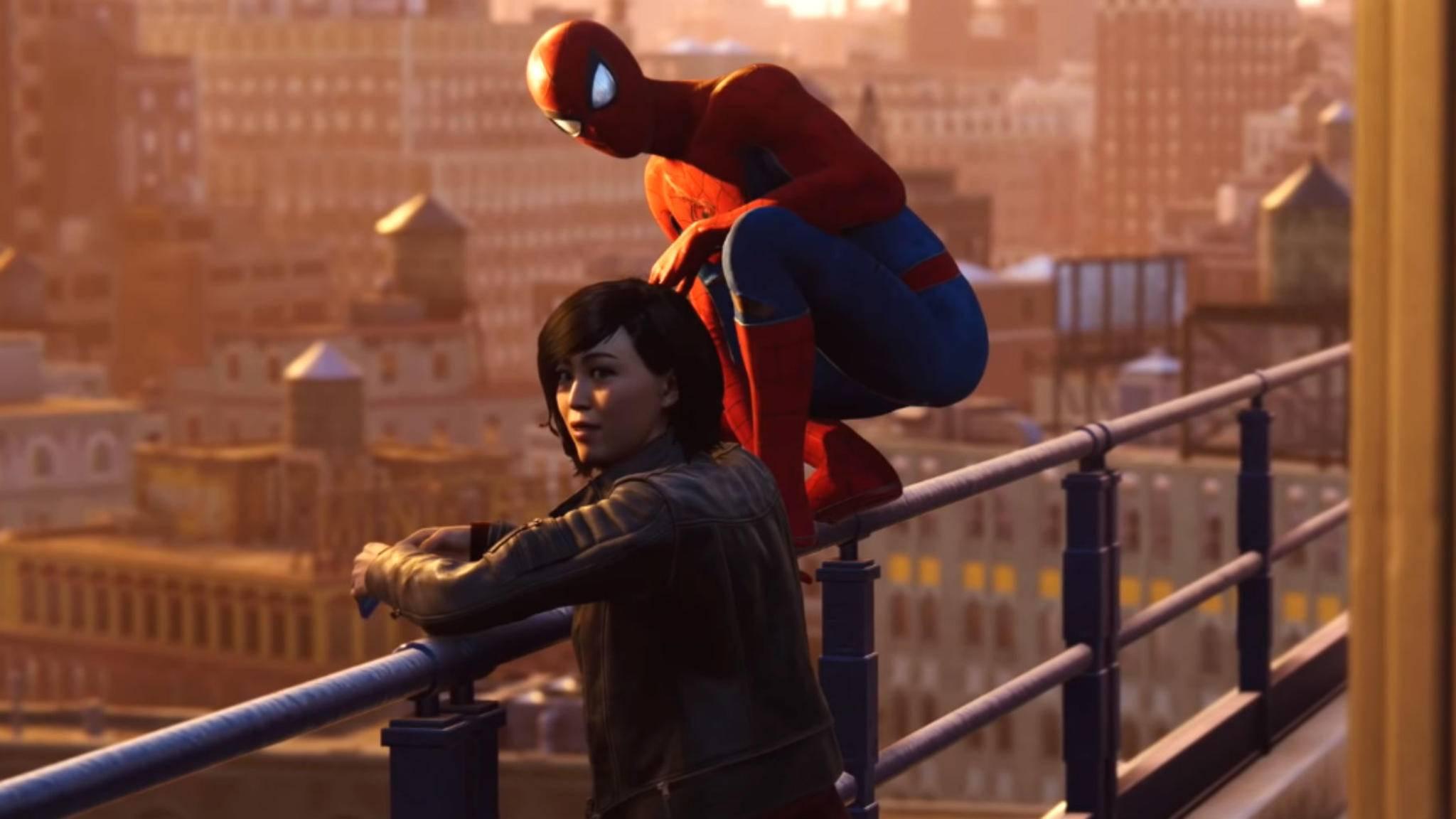 """Wer """"Spider-Man"""" auf der PS5 erneut spielt, fängt von vorn an."""