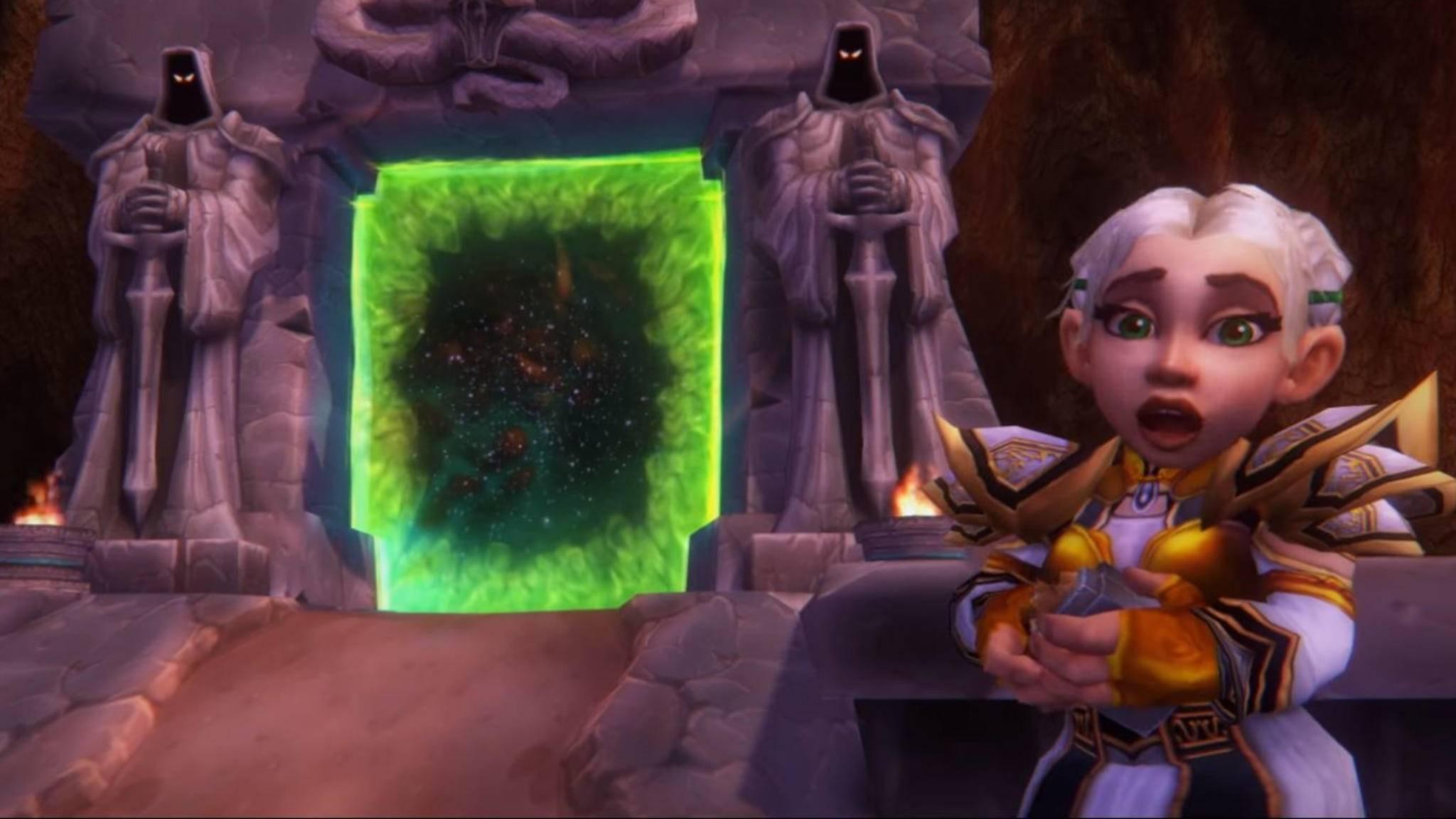 """Zurück zu den Wurzeln: Auf der BlizzCon 2018 können Besucher sowie Besitzer des virtuellen Tickets erstmals """"World of Warcraft Classic"""" anspielen."""