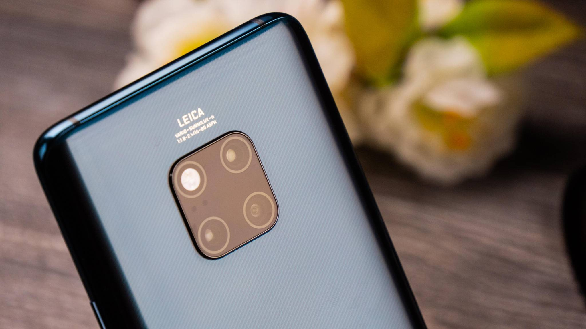 Das Huawei Mate 20 Pro übernimmt die Spitze in der Rangliste von DxOMark.