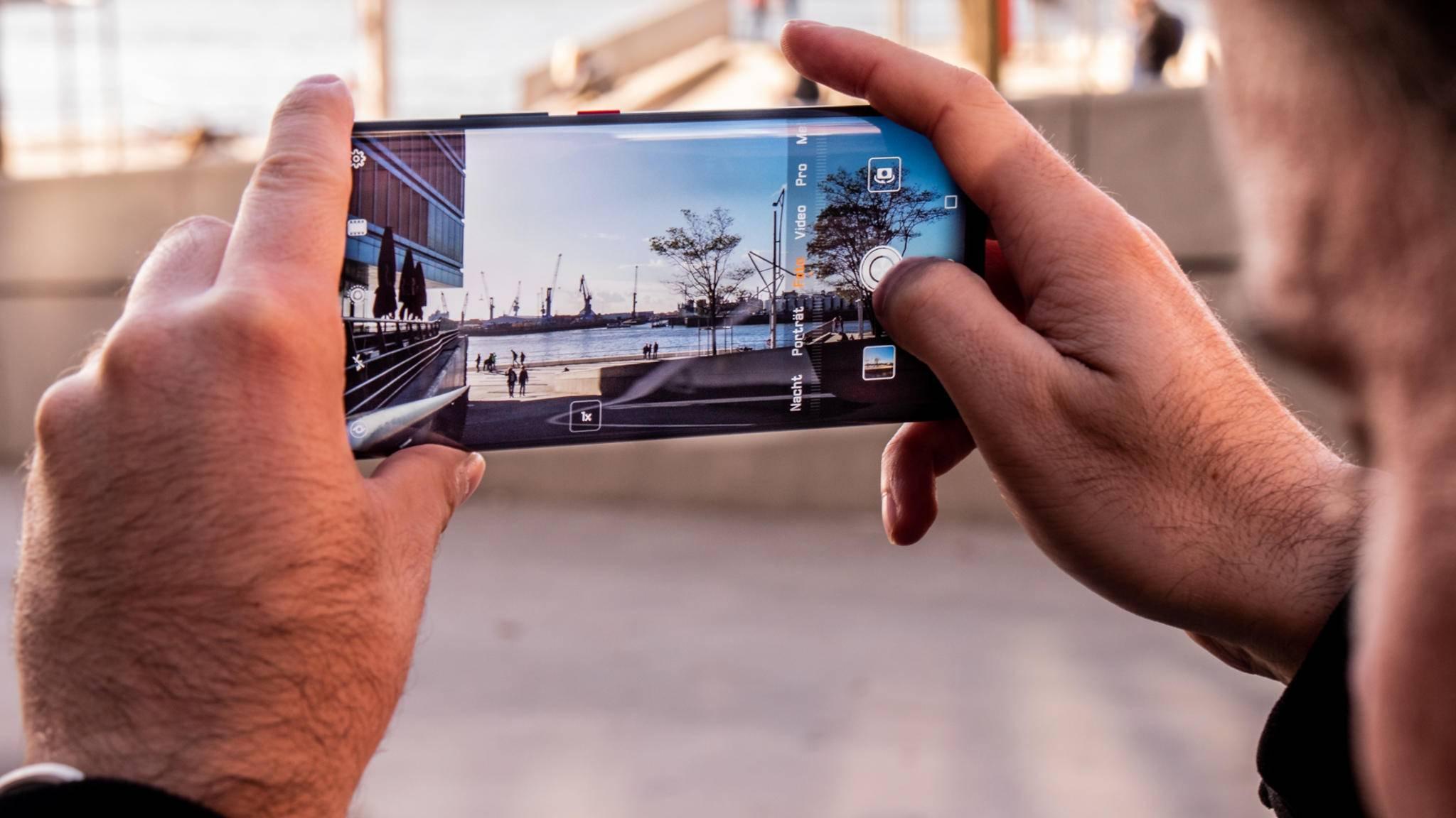 Das Huawei Mate 20 Pro hat eine 40-MP-Hauptkamera.