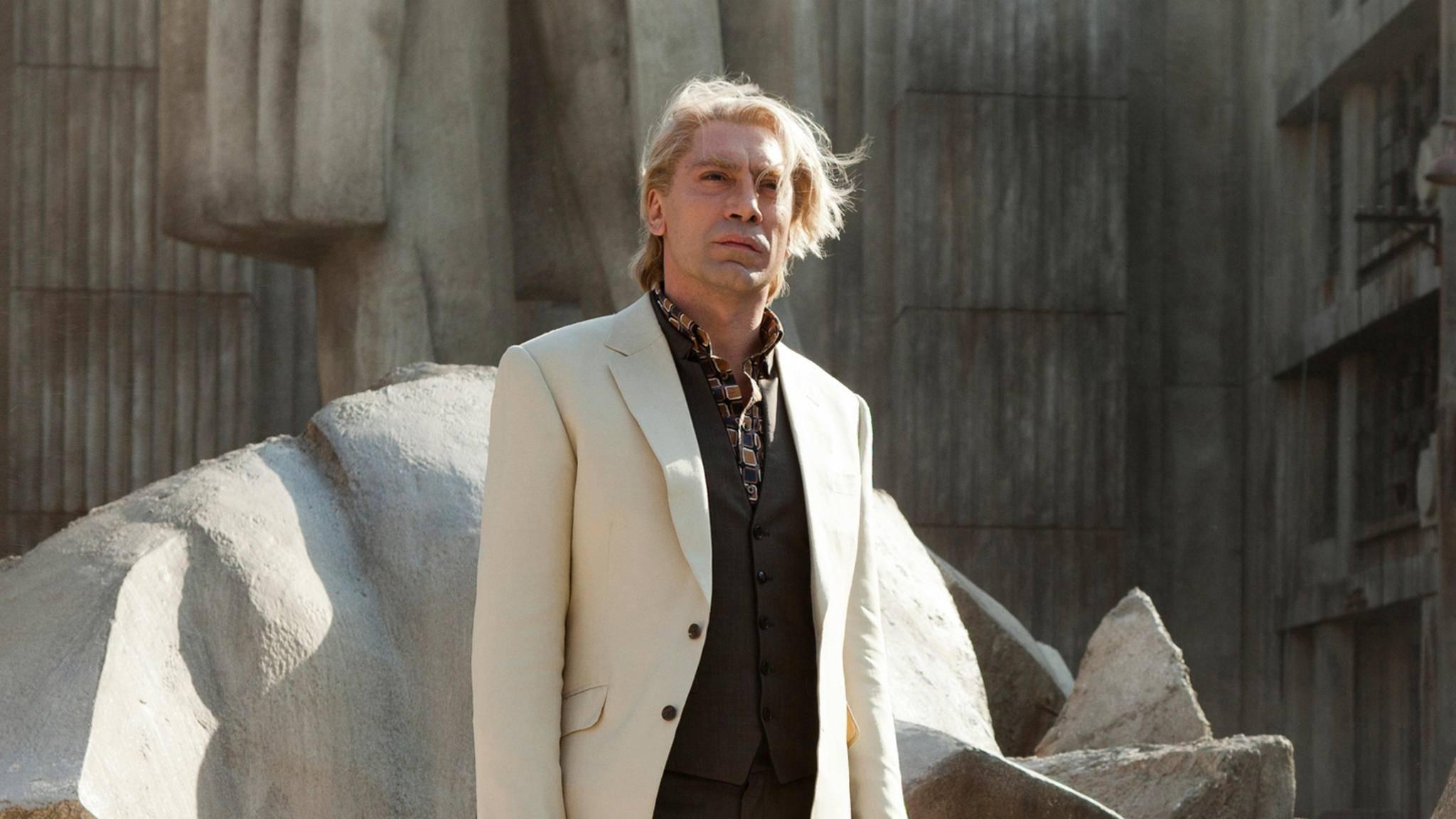 Als Bond-Bösewicht ist Javier Bardem kaum wiederzuerkennen.