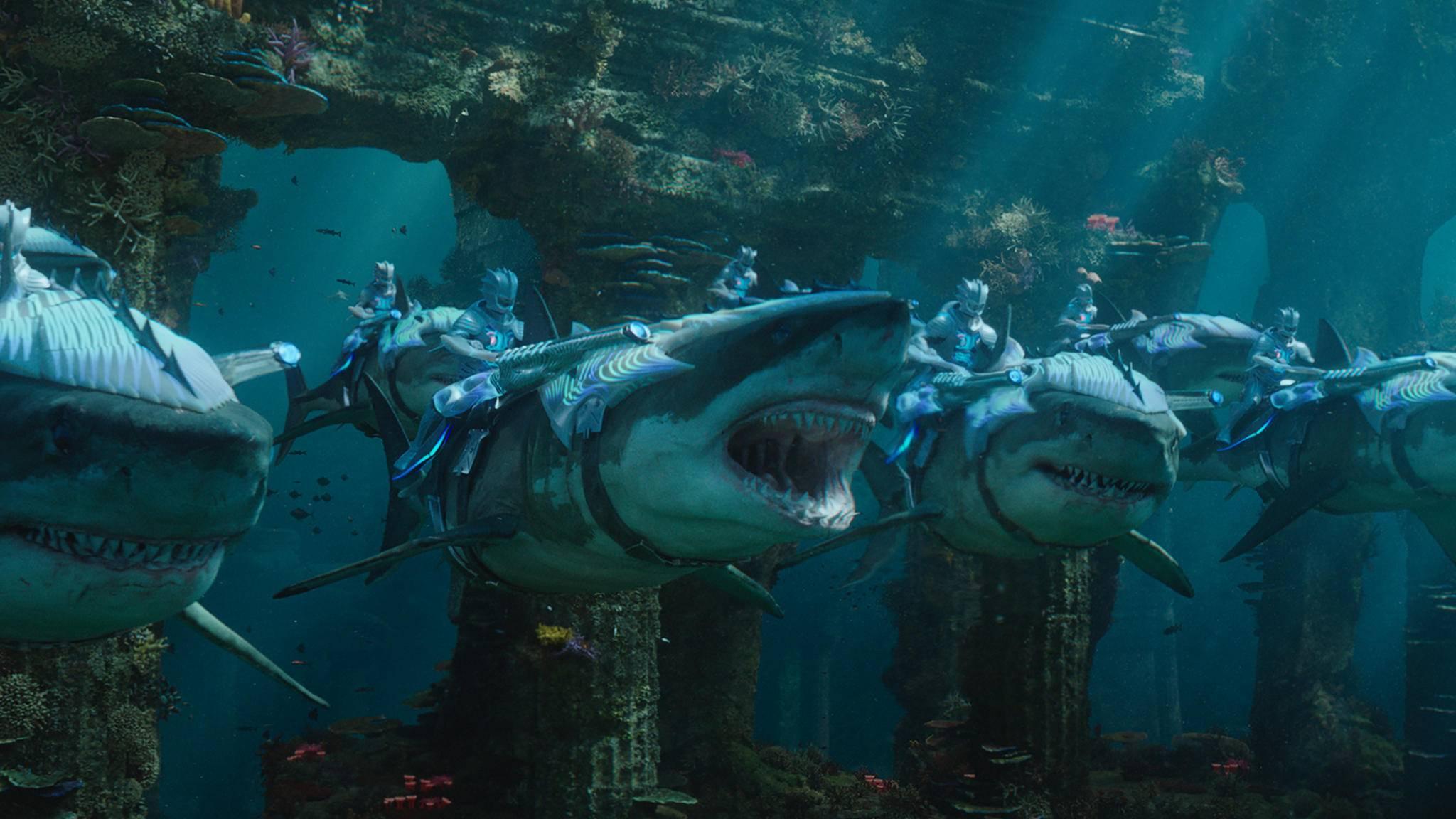 """""""Aquaman"""" beißt ein großes Stück vom chinesischen Box-Office-Kuchen ab."""