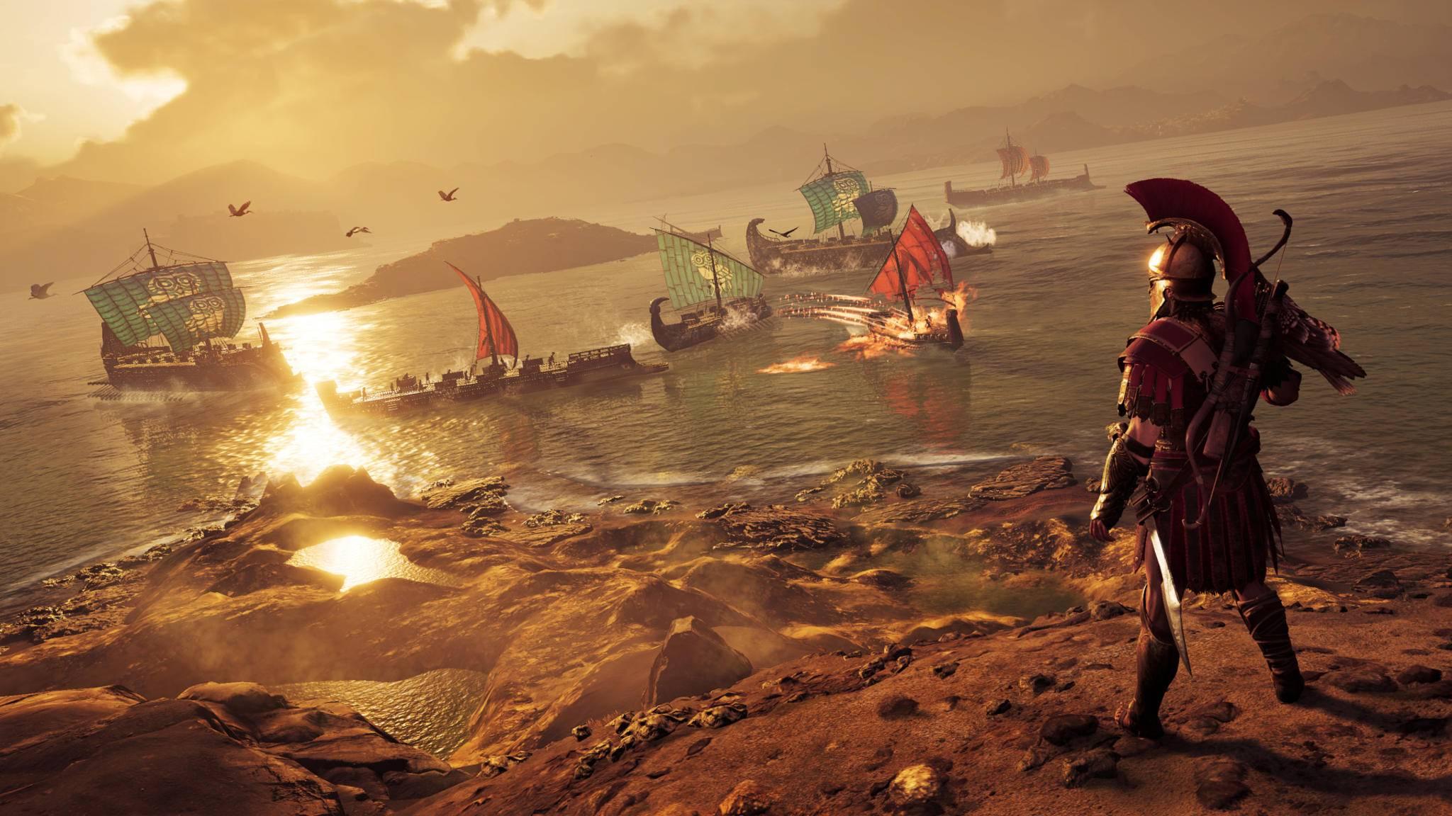 """""""Assassin's Creed Odyssey"""": Kreuzfahrt ohne Rausgehen."""