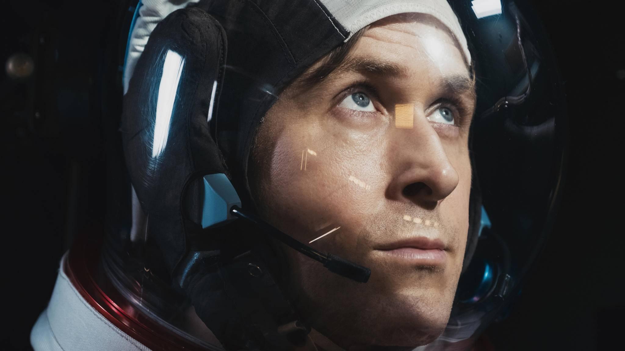 "Ryan Gosling (hier in ""Aufbruch zum MOnd"") tauscht Raumanzug gegen Fellbezug."