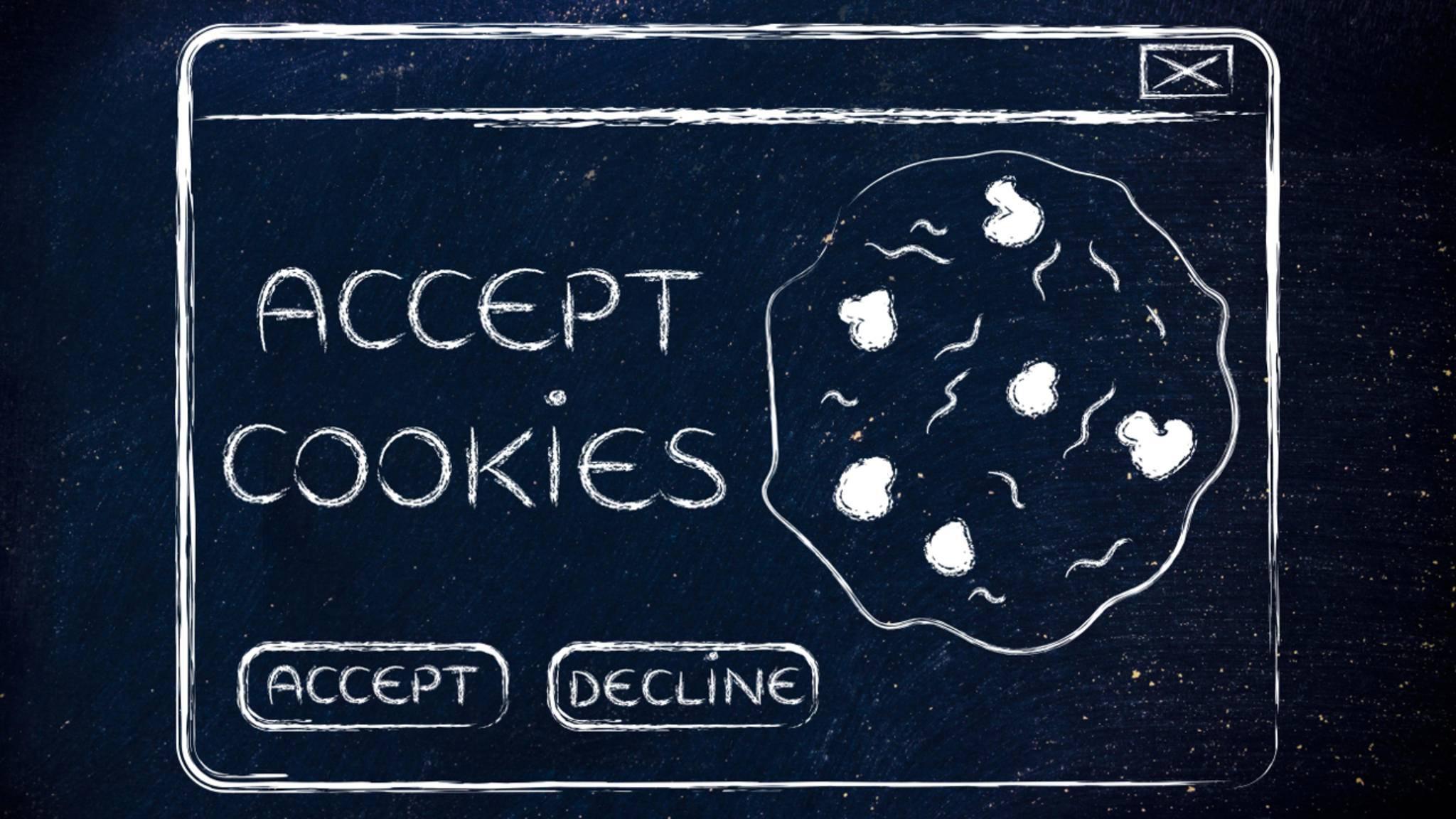 Die Cookies im Internet haben nichts mit Keksen zu tun.