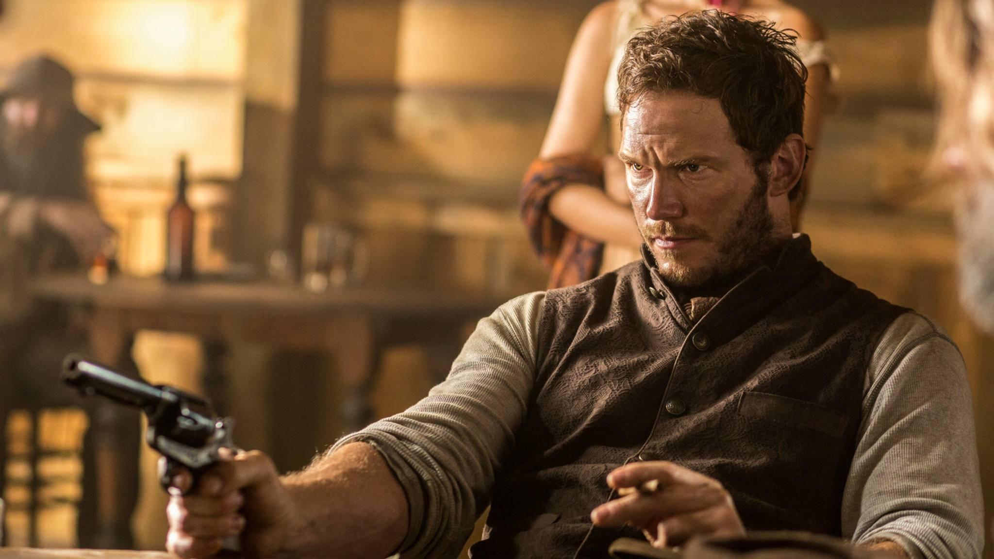"""In Taylor Sheridans """"Fast"""" darf Chris Pratt (hier in """"Die Glorreichen Sieben"""") sicherlich erneut zur Waffe greifen."""