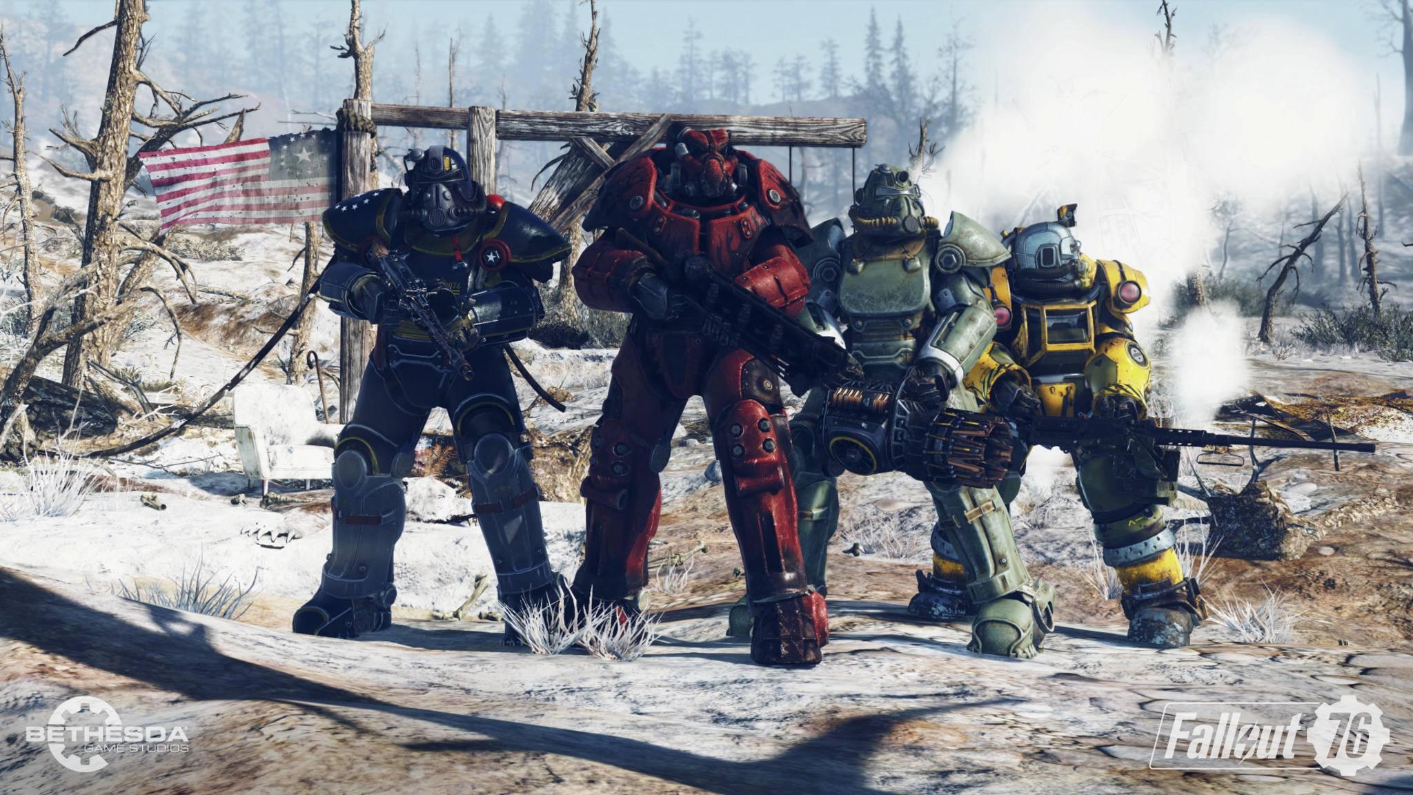 """Mit dem """"Wastelanders""""-Update soll """"Fallout 76"""" noch mal richtig durchstarten."""