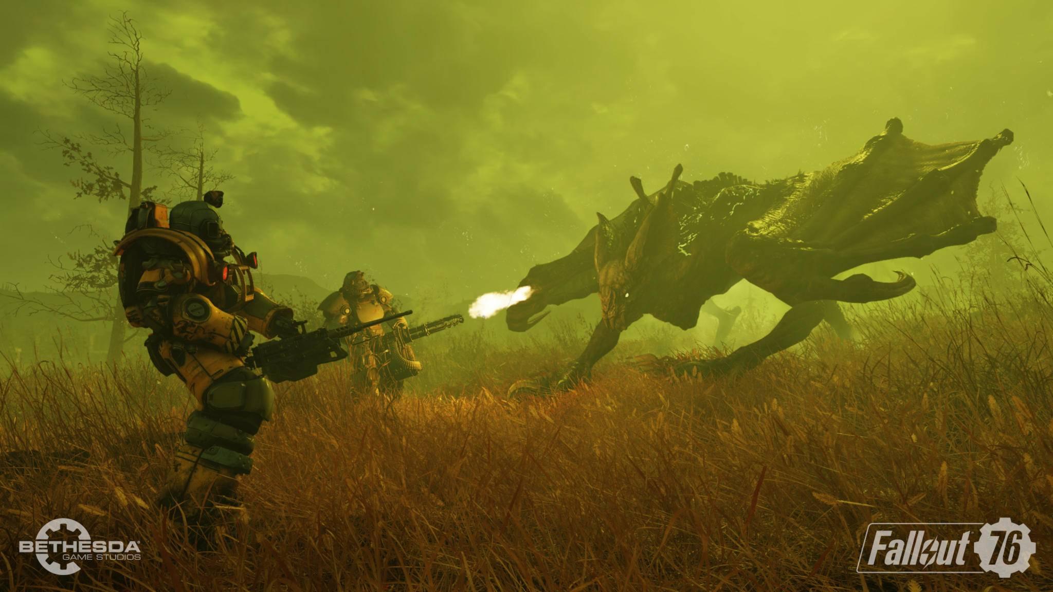 """Am Wochenende hast Du die Chance, an zwei Beta-Session in """"Fallout 76"""" teilzunehmen."""