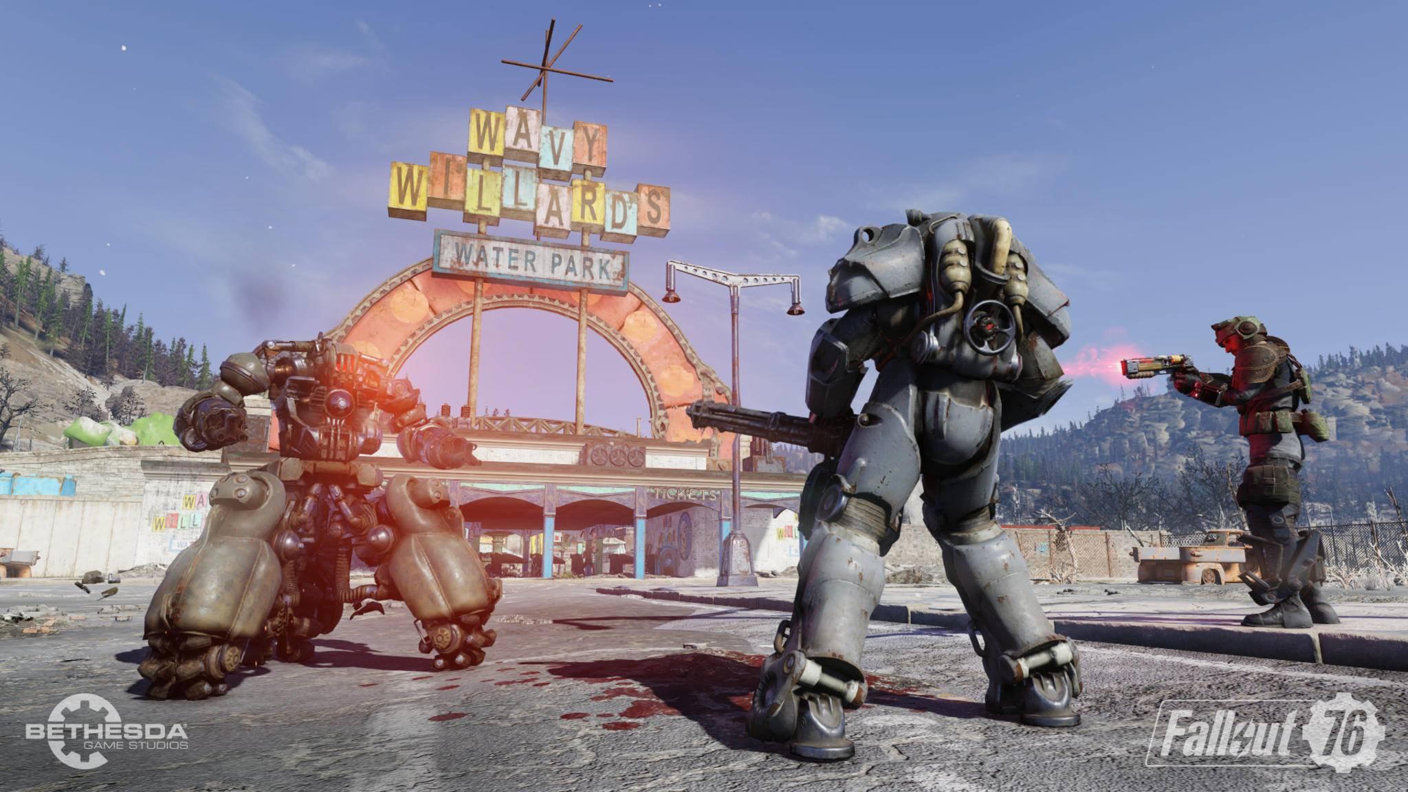 """In """"Fallout 76"""" könntest Du bald schon stolzer Besitzer eines eigenen Ladens sein."""