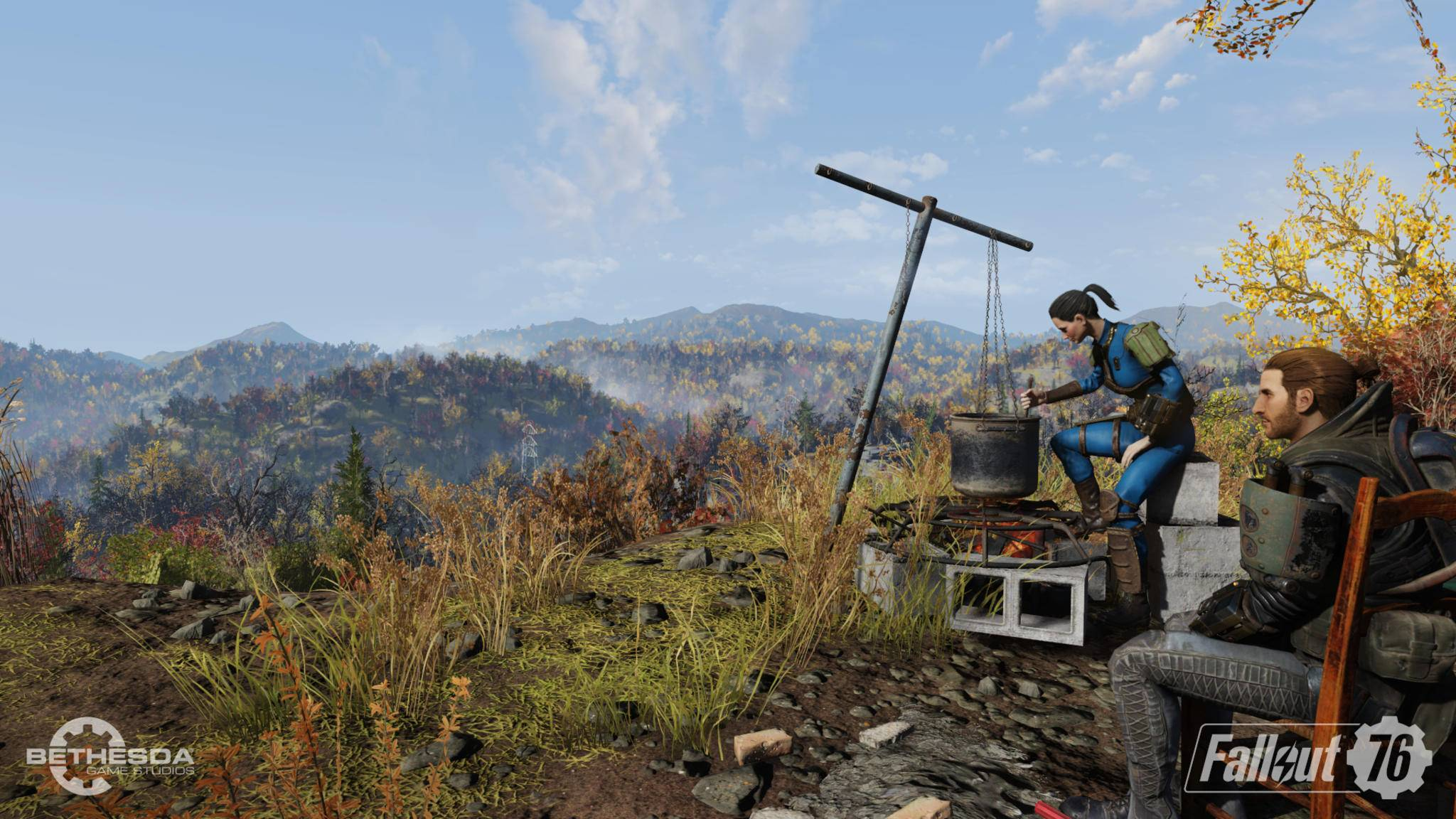 """Warten auf """"Wastelanders"""": Das große Update für """"Fallout 76"""" geht am 14. April live."""