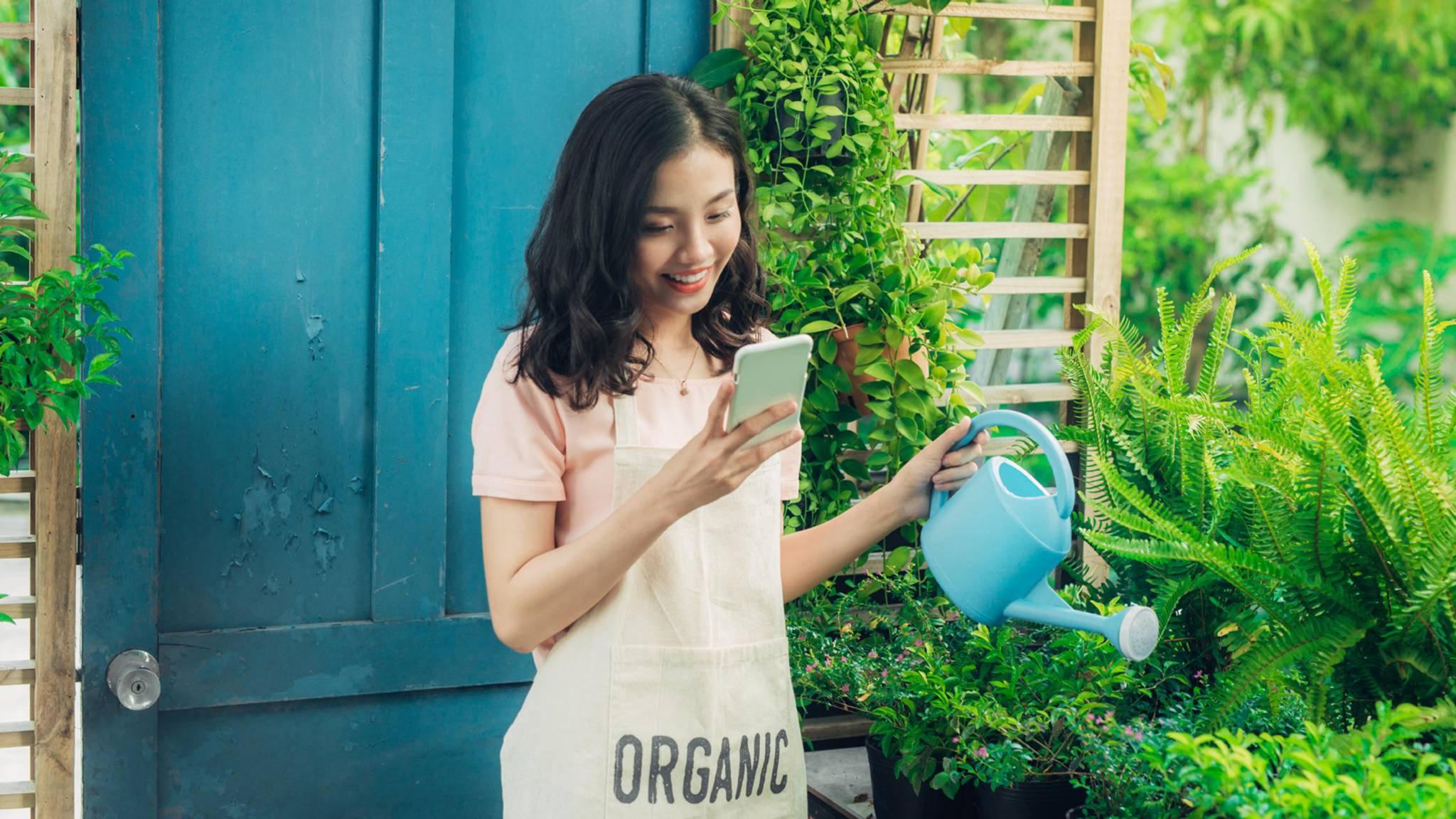 Garten-Apps helfen Dir dabei, Deinen Garten und/oder Balkon zu verschönern und zu pflegen.
