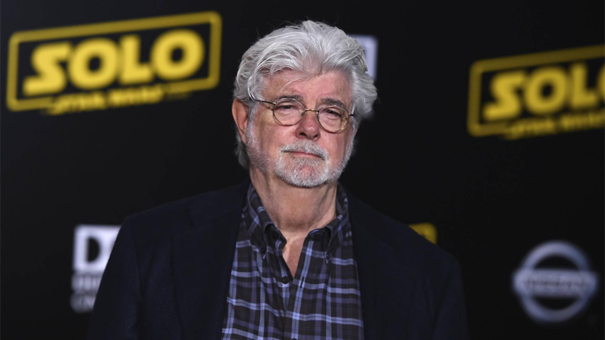 """George Lucas schaut bei der """"Star Wars""""-Serie offenbar nach dem Rechten."""