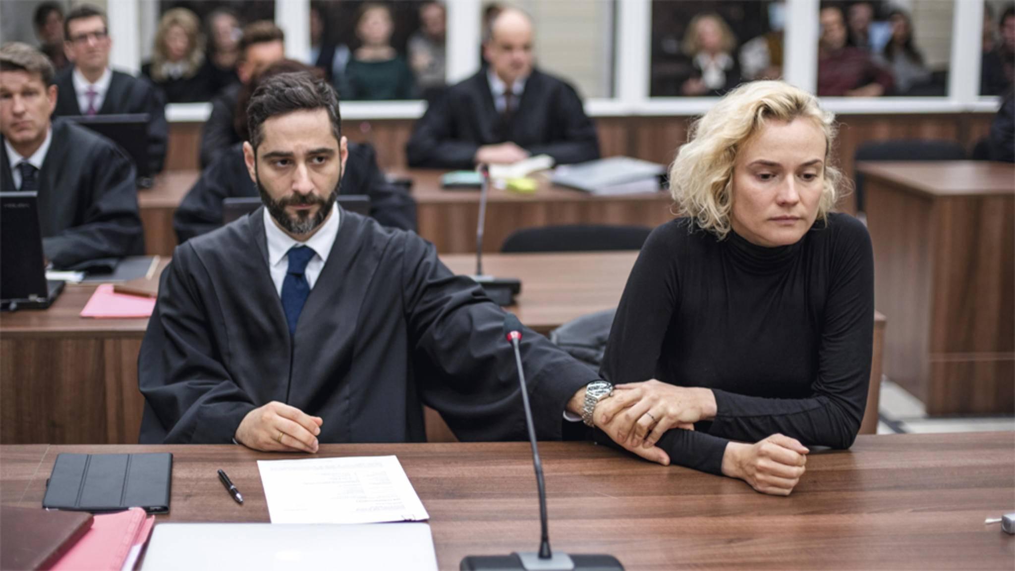 """Filme wie """"Aus dem Nichts"""" behandeln Gerechtigkeit im Gerichtssaal."""