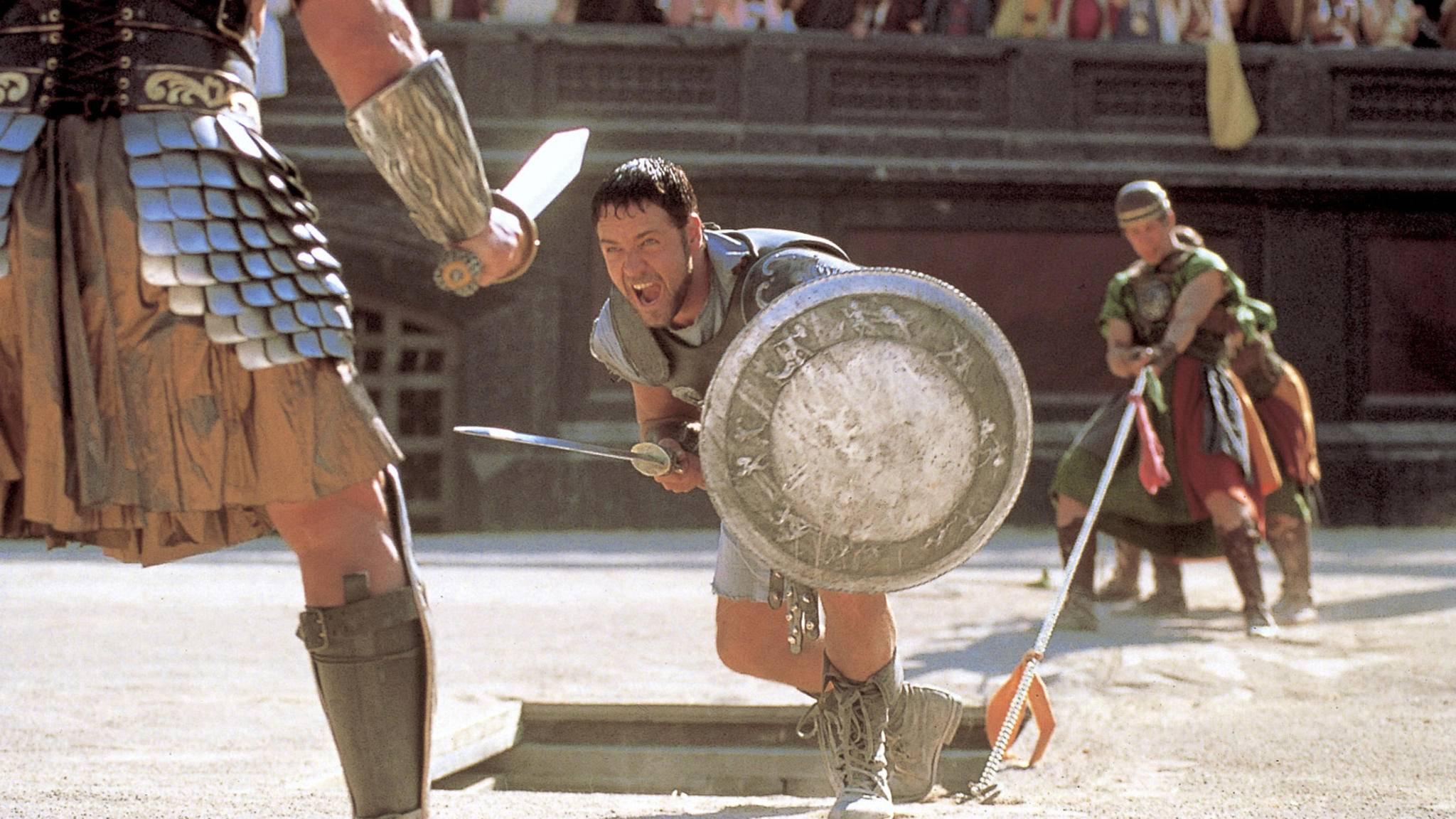 """Bei """"Gladiator 2"""" tut sich was."""