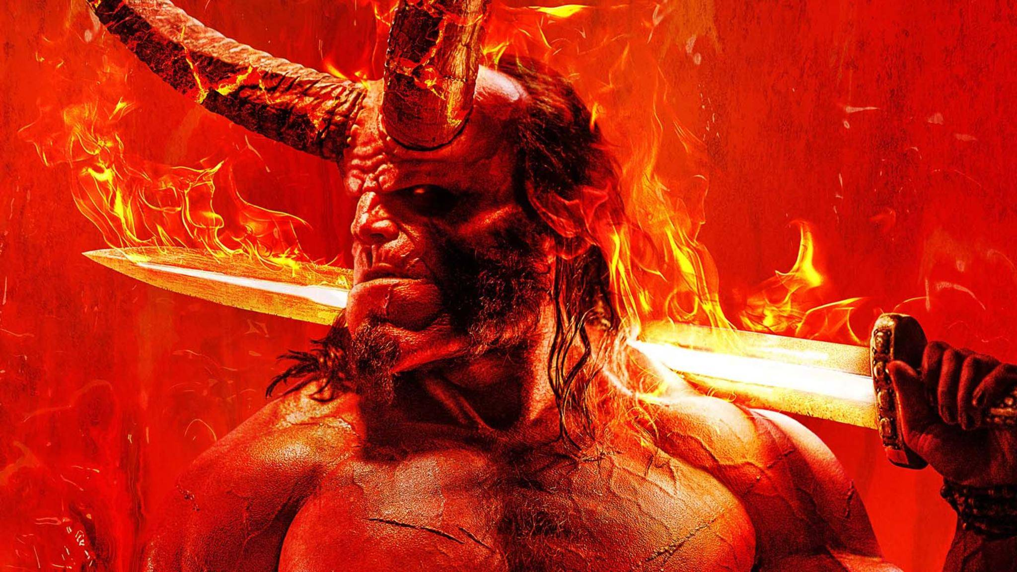 David Harbour übernimmt die Rolle von Hellboy.