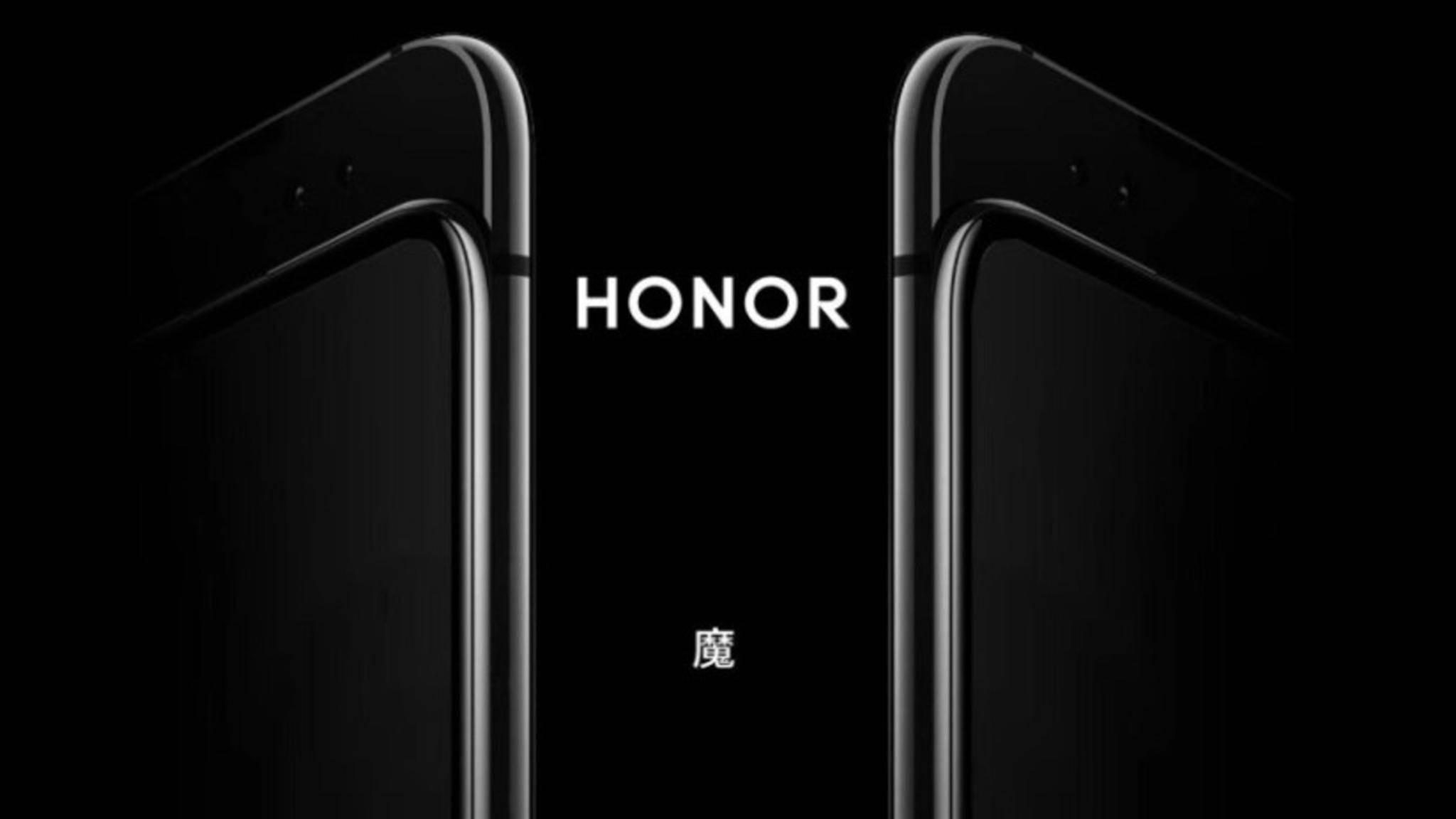 Das Honor Magic 2 soll einen ausfahrbaren Slider besitzen.