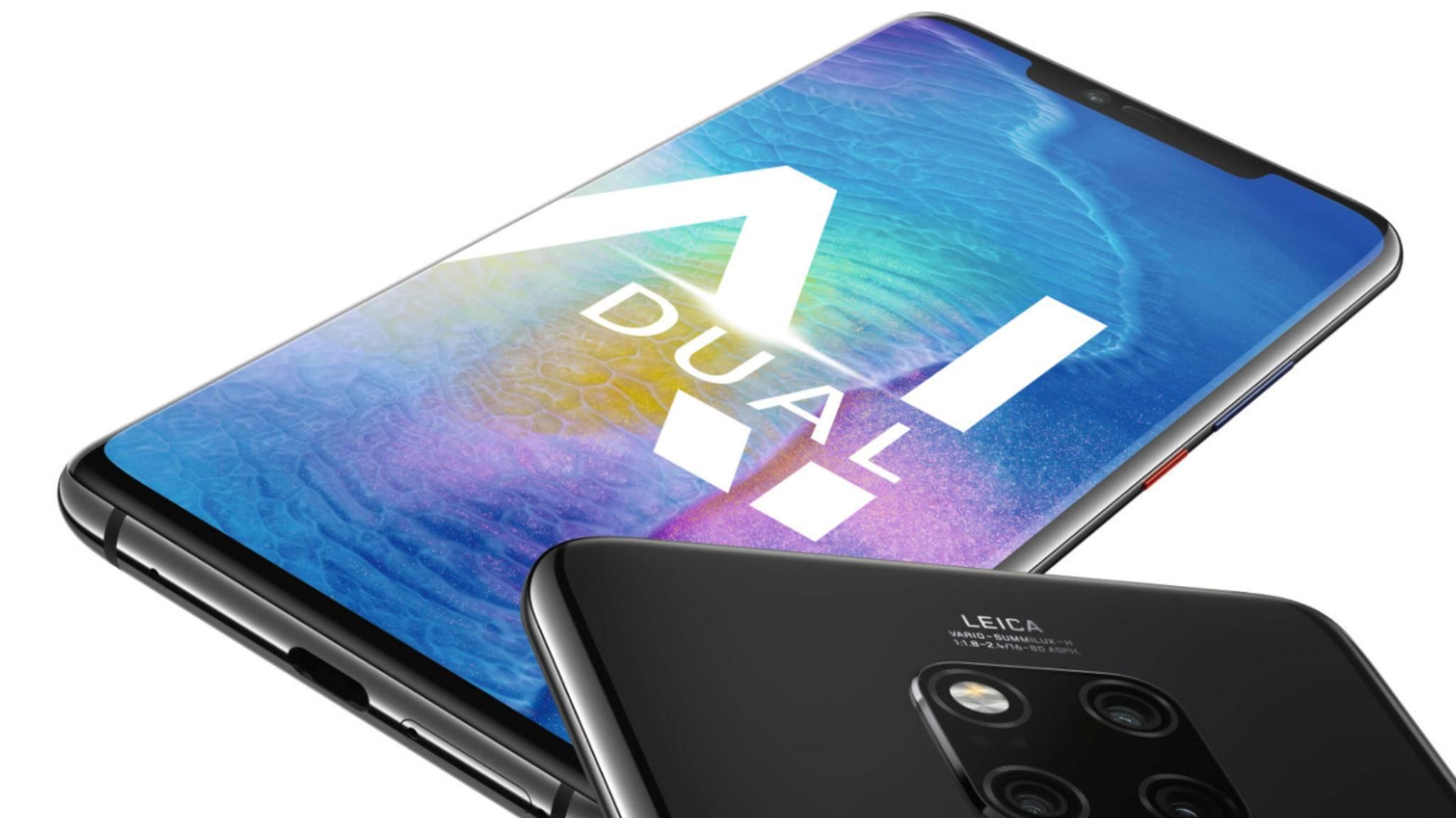 Das Huawei Mate 20 und das Mate 20 Pro wurden offiziell in London vorgestellt.