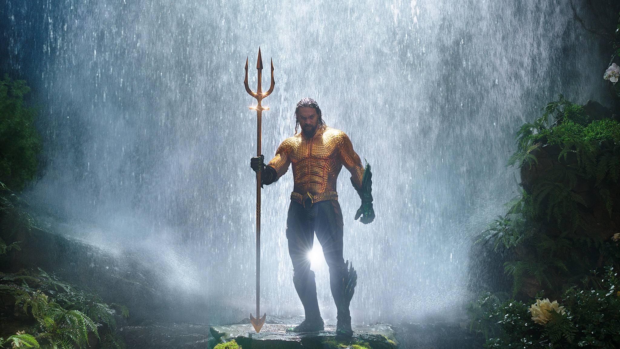 """""""Aquaman"""" nimmt sich in Sachen Laufzeit ein gutes Beispiel an """"Wonder Woman""""."""