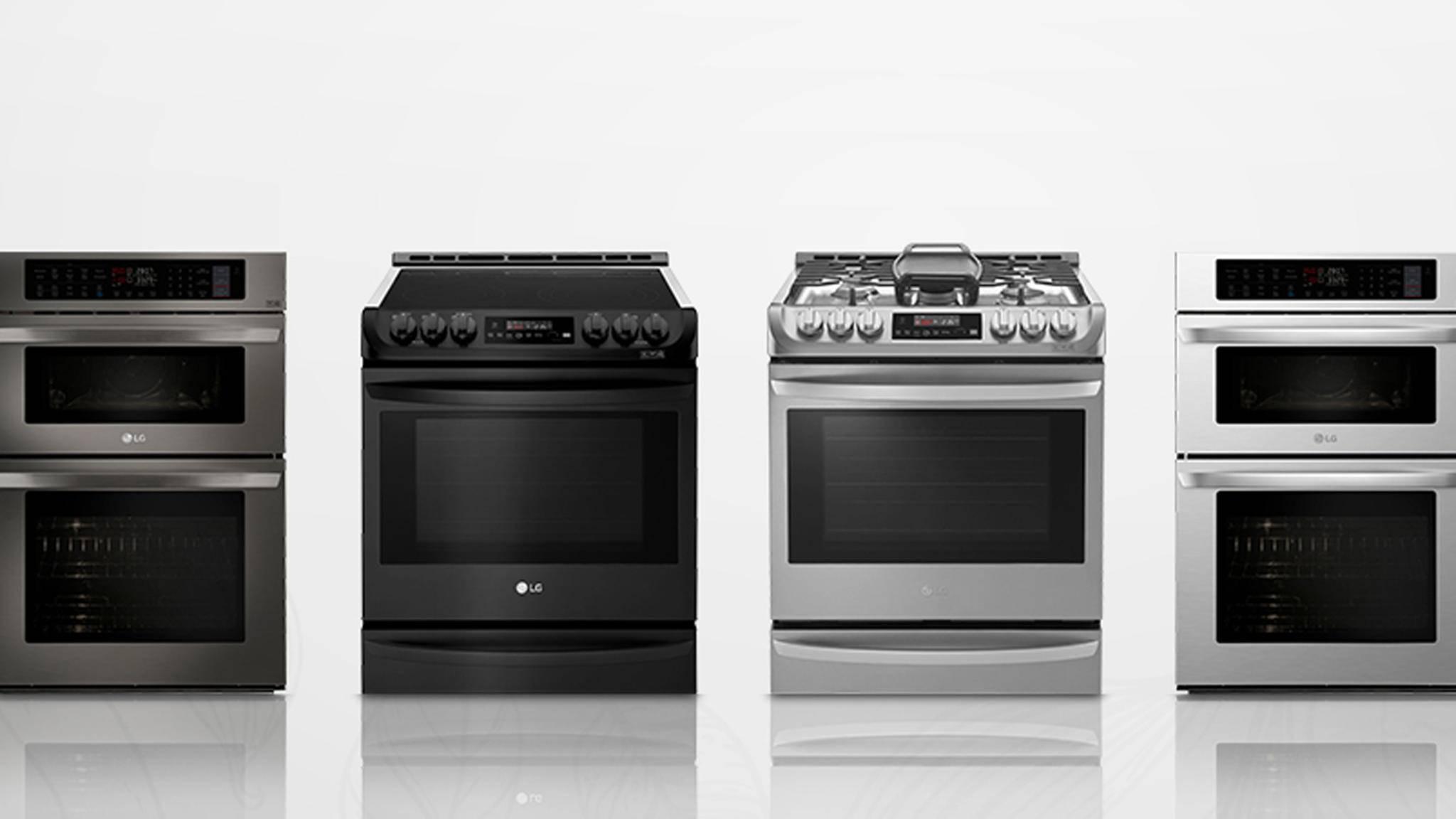 LGs smarte Backöfen machen das Kochen bald zum Kinderspiel.