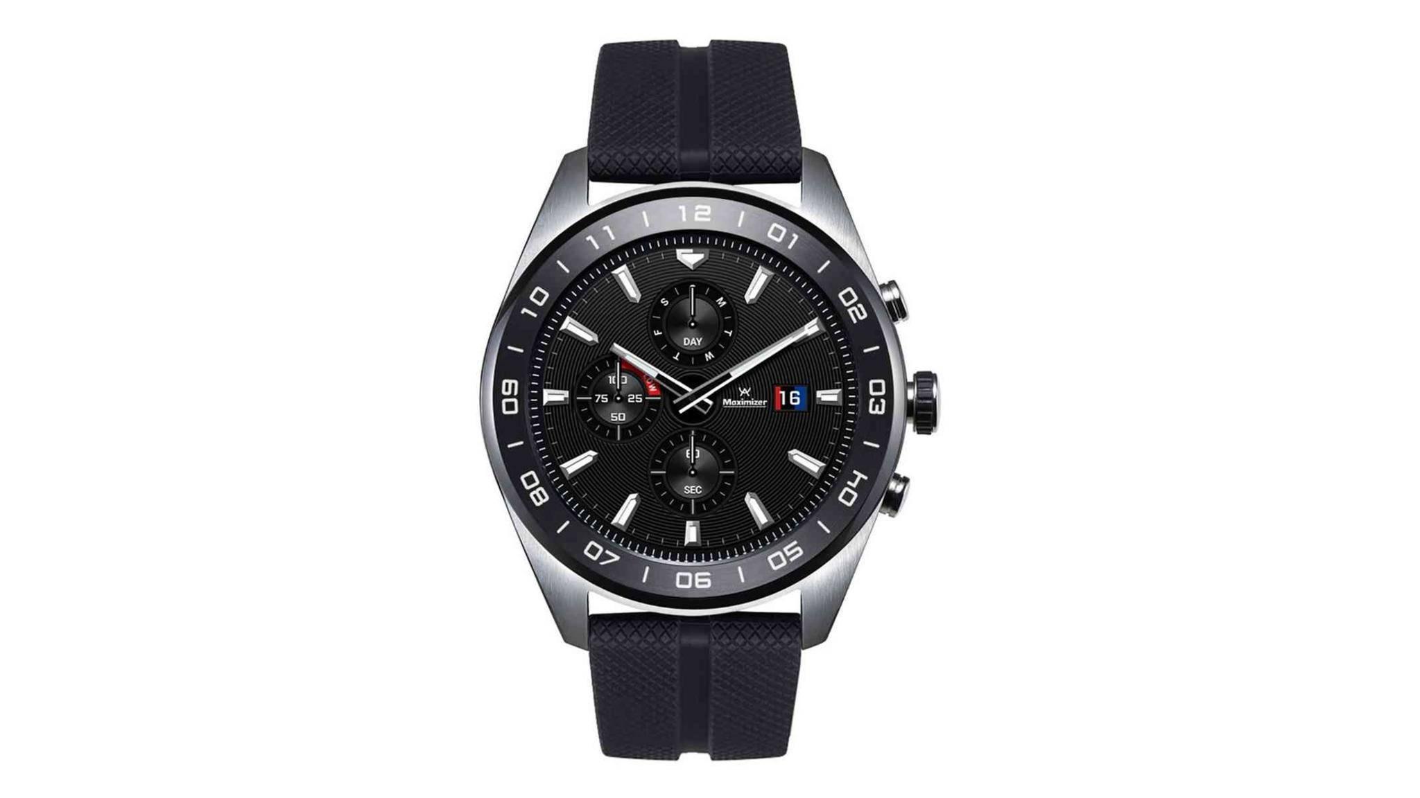 Die LG Watch W7 ist eine Hybrid-Smartwatch mit Wear OS.