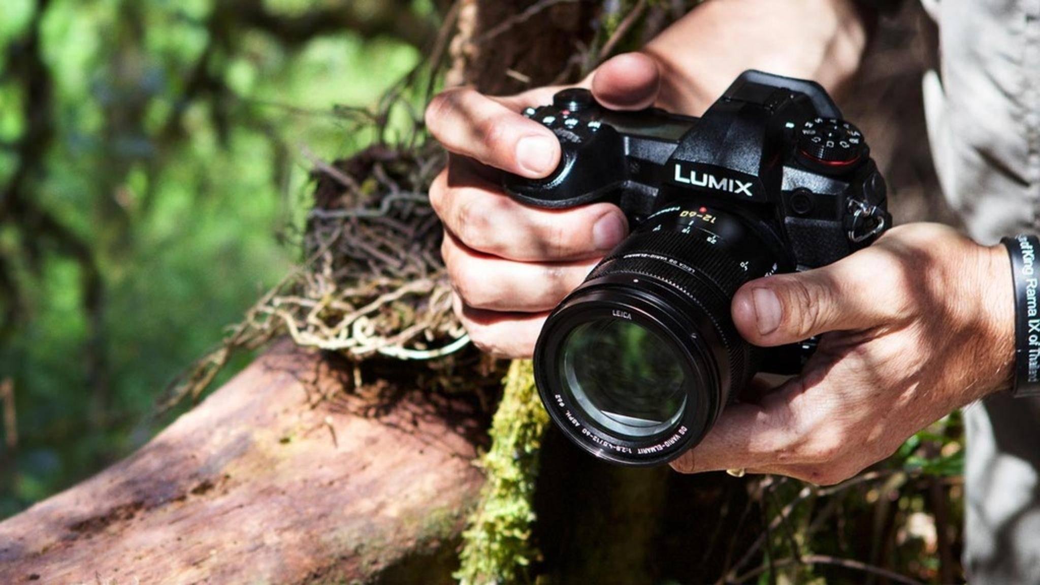 Die Lumix G9 macht besonders schnelle Serienaufnahmen.