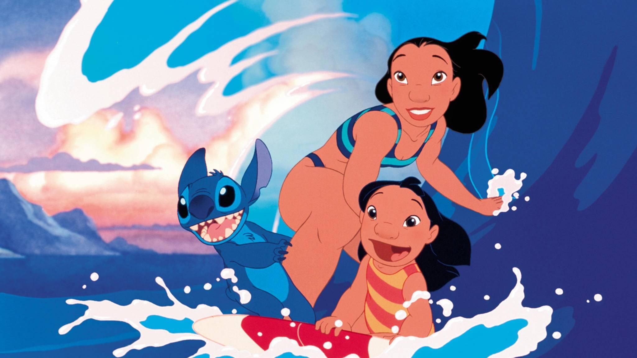 """""""Lilo & Stitch"""" surft als Realverfilmung zurück auf die Bildschirme."""