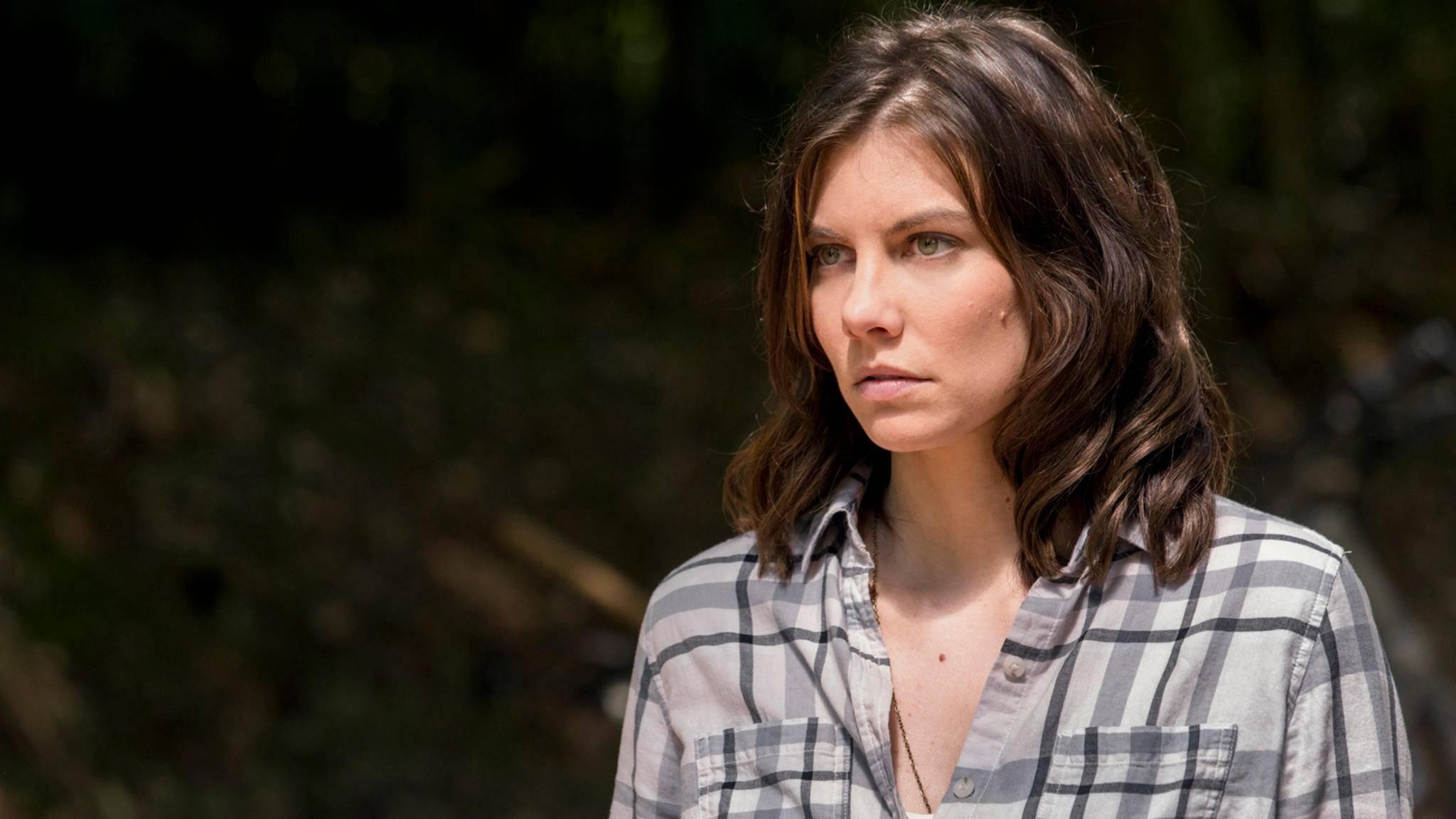 """Maggie musste sich in """"The Walking Dead"""" einigen harten Situationen stellen. Das ließ auch Darstellerin Lauren Cohan nicht kalt."""