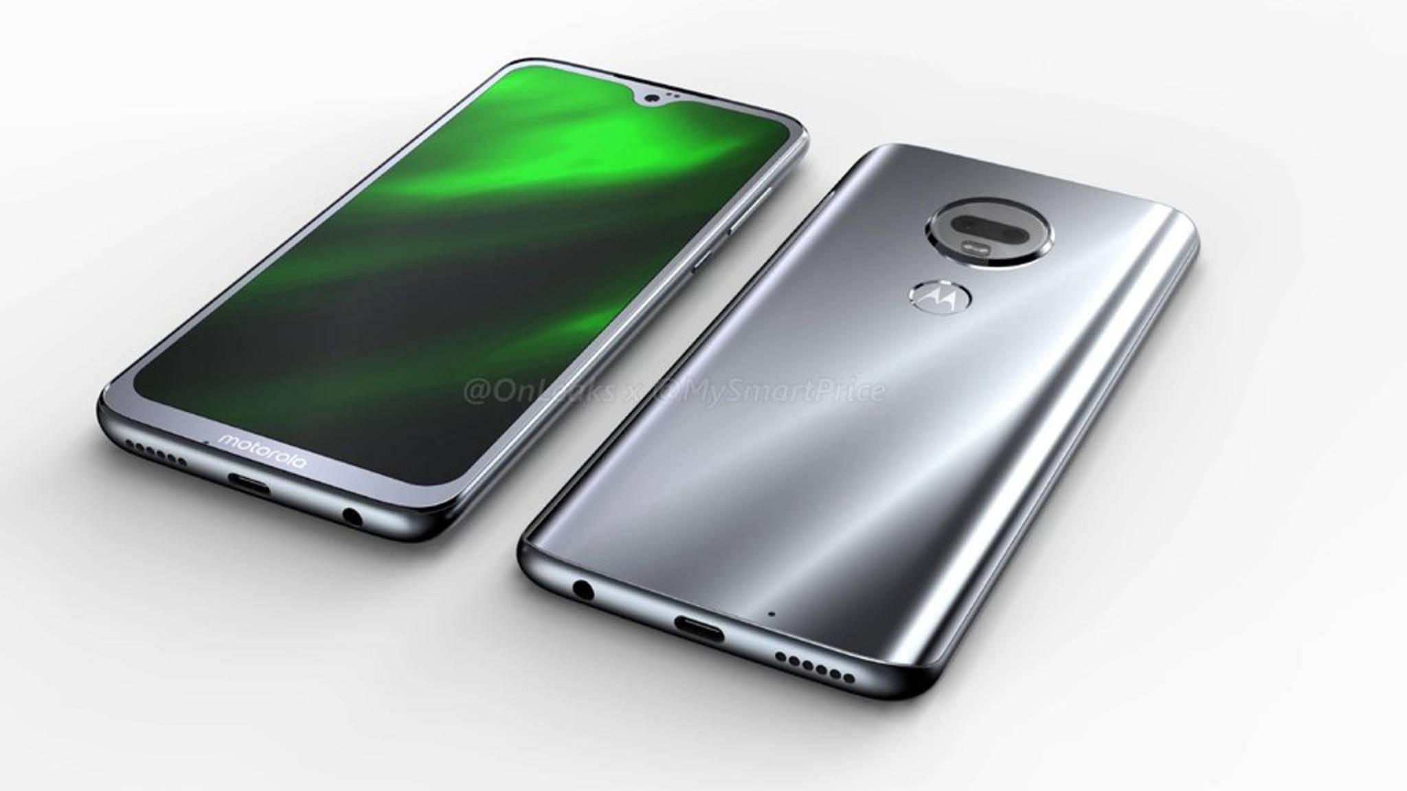 Das Motorola Moto G7 setzt vermutlich auch auf die Notch.