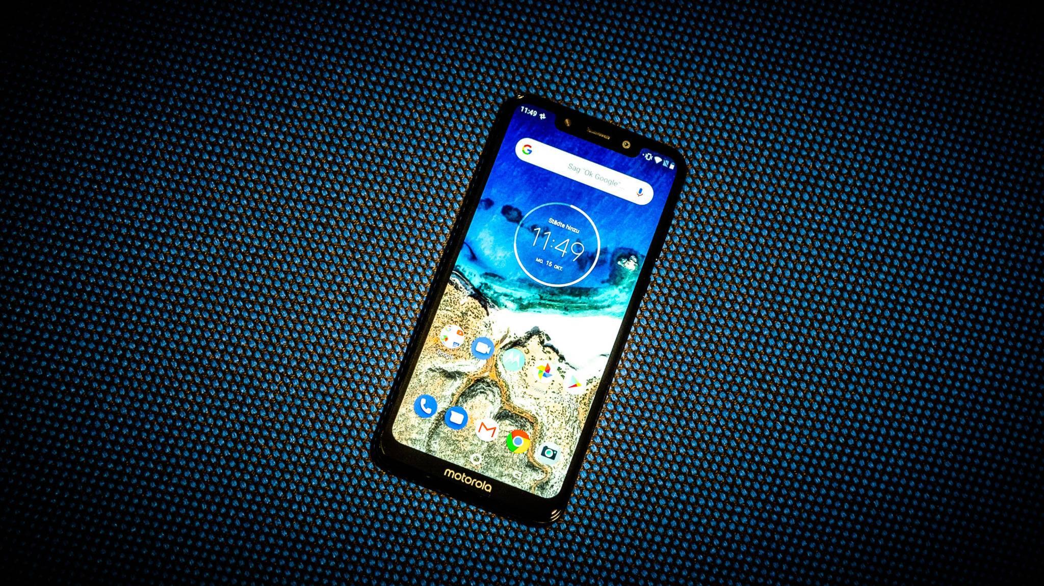 Das Motorola One bietet die pure Android-Erfahrung.
