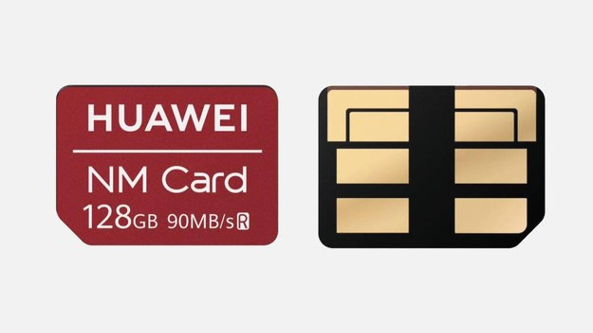Die Nano Memory Card ist ein neues Speicherkartenformat von Huawei.