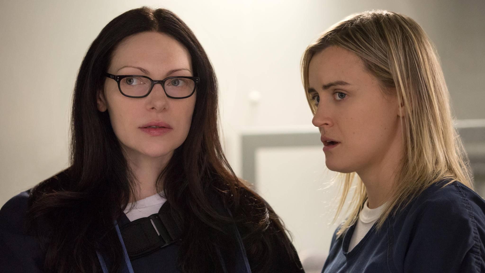 """Wie geht Staffel 7 von """"Orange is the New Black"""" wohl für Alex und Piper aus?"""