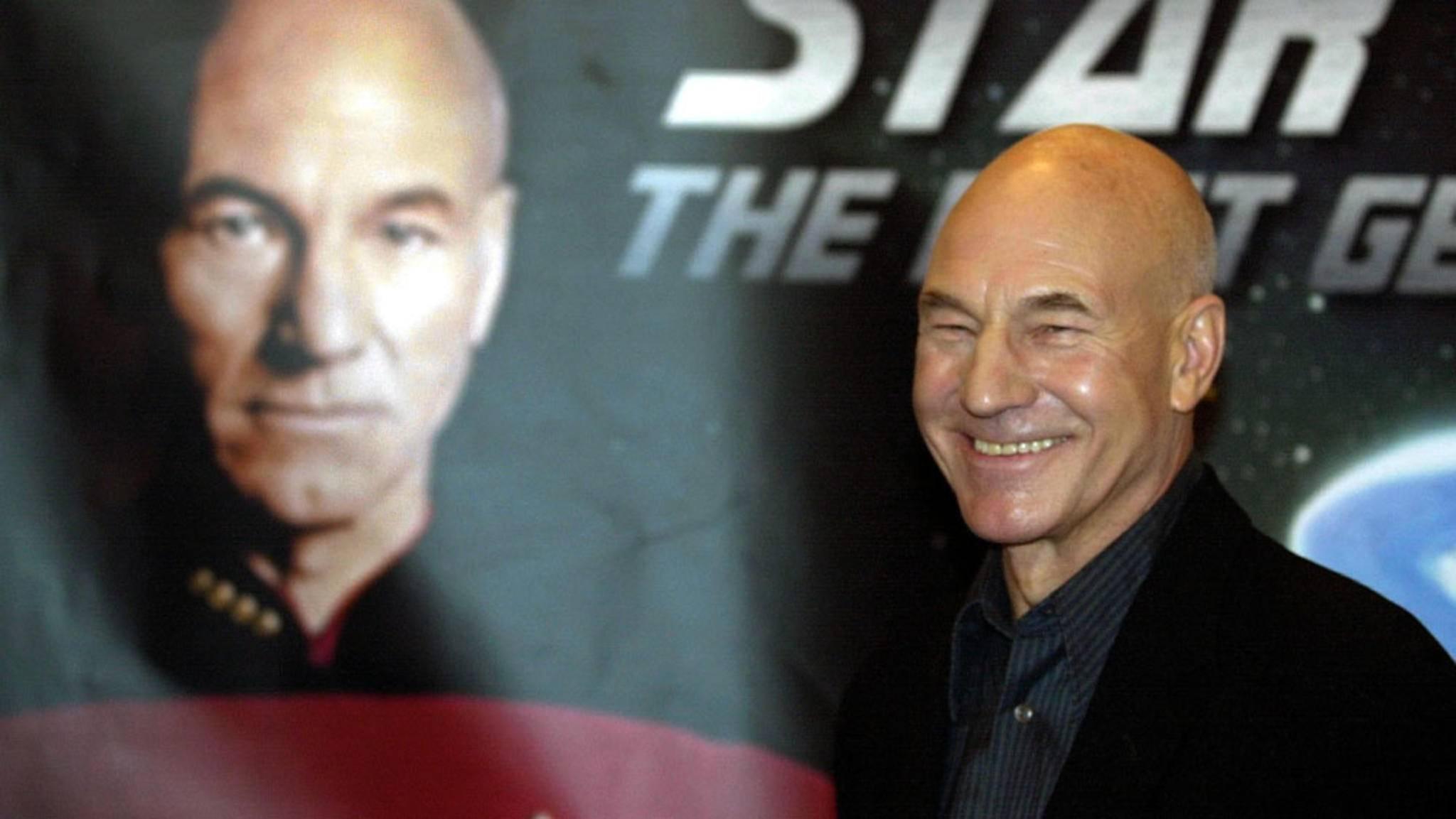 """Patrick Stewart geht in seiner eigenen neuen """"Star Trek""""-Serie erneut auf große Mission."""