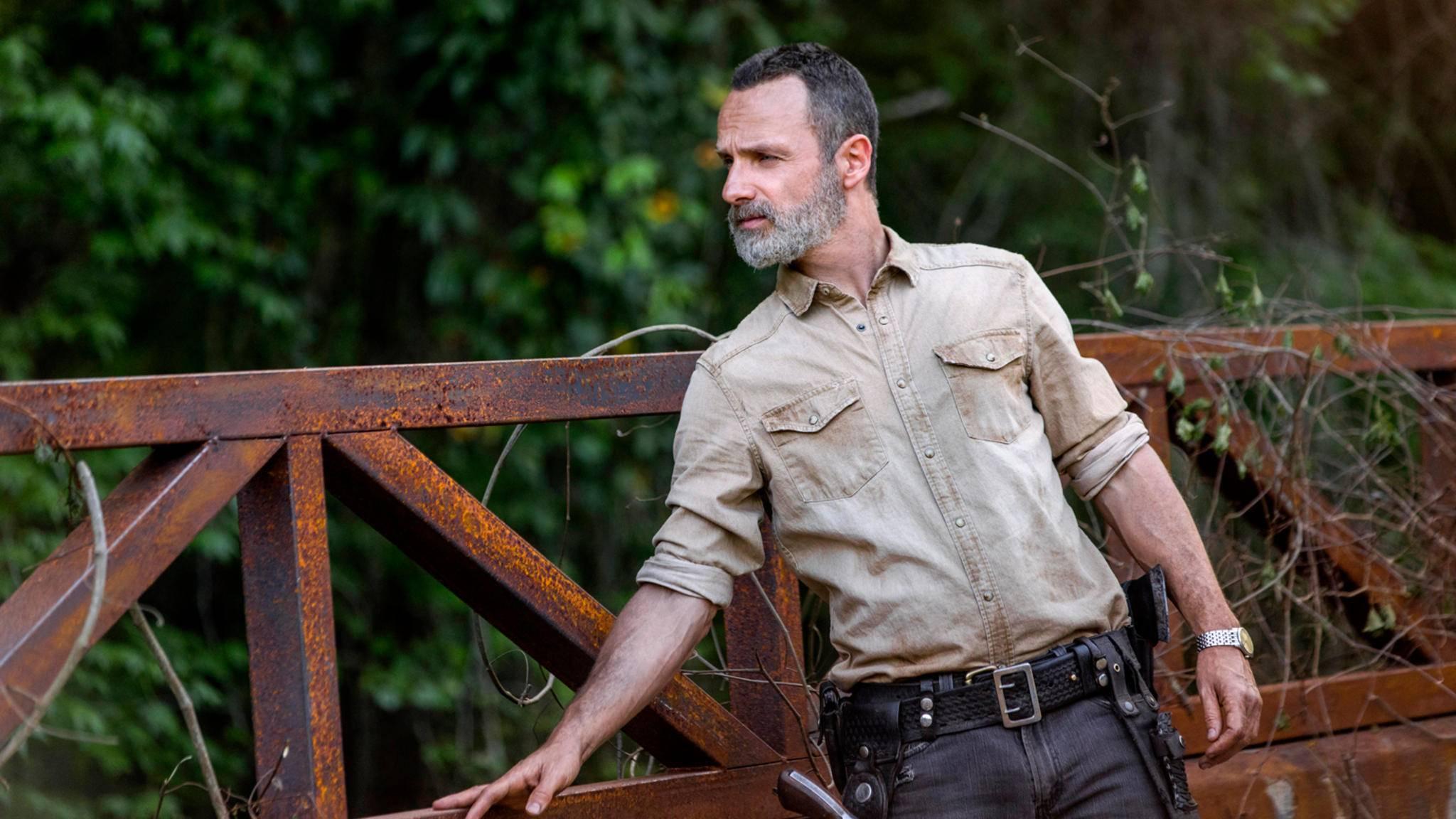 """Seit Staffel 9 fehlt von Rick Grimes im """"The Walking Dead""""-Universum jede Spur ..."""