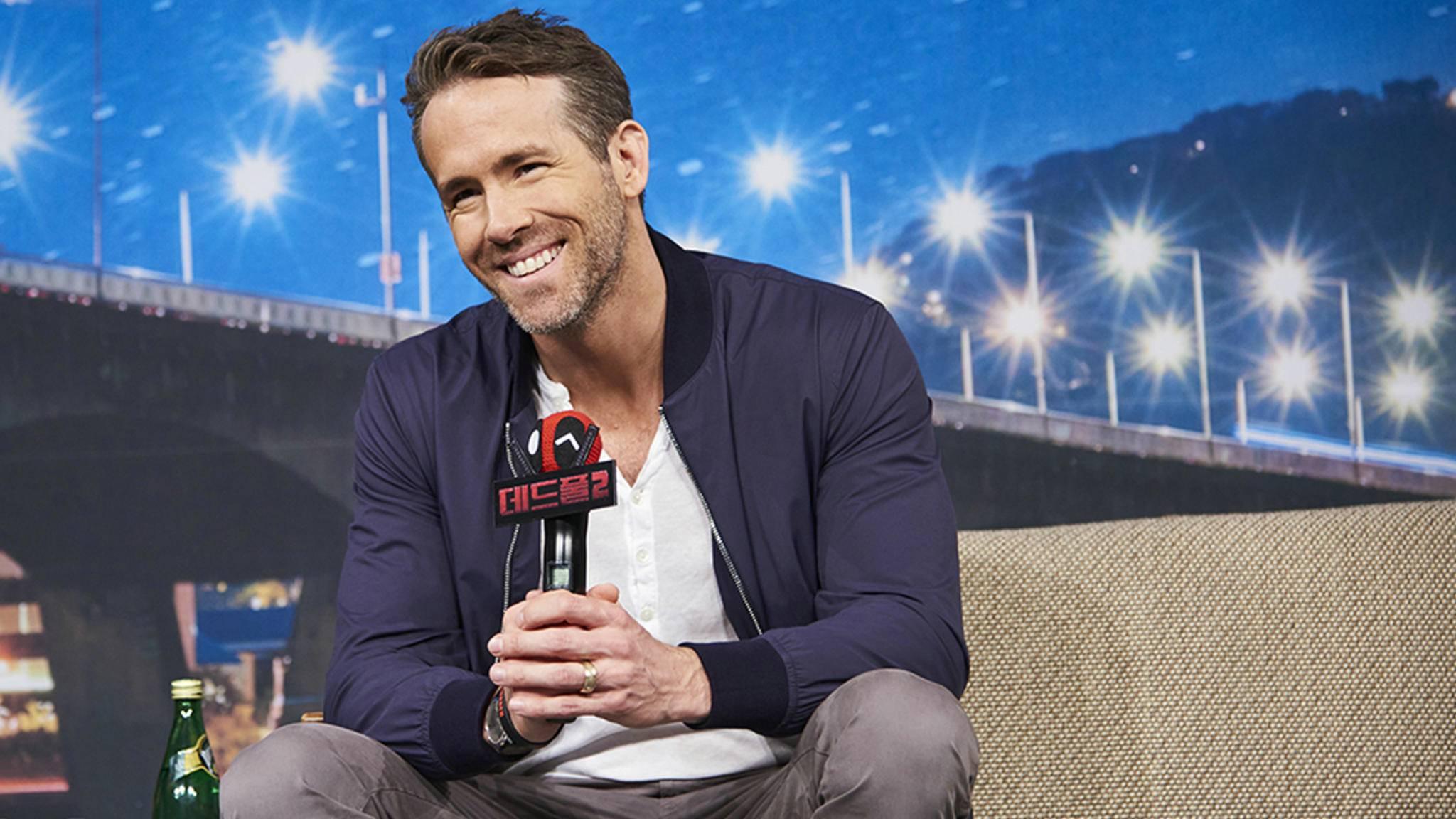 """Ryan Reynolds gehört nicht erst seit """"Deadpool"""" zu den gefragtesten Schauspielern in Hollywood."""