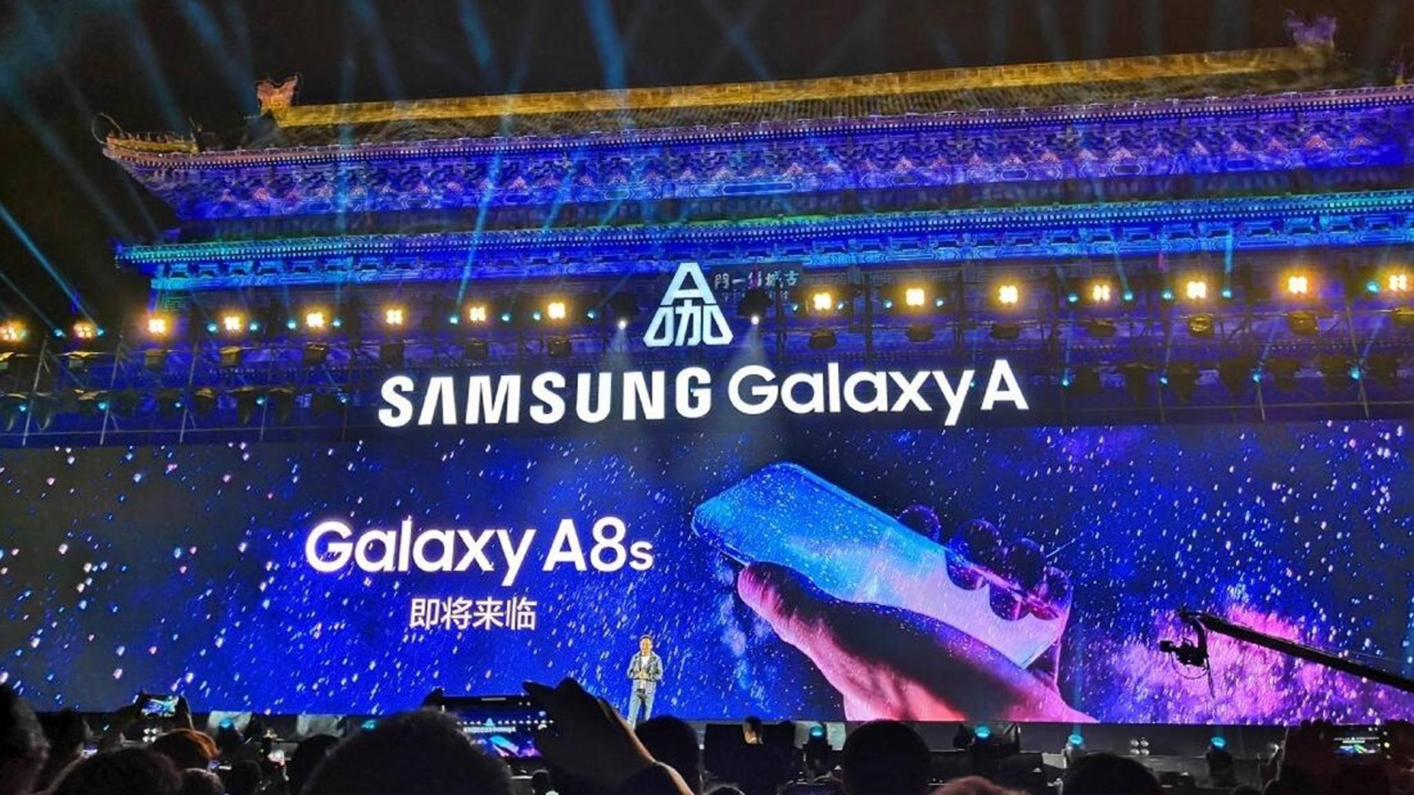 Das Galaxy A8s wird wohl das nächste Mittelklasse-Smartphone mit neuer Technologie.