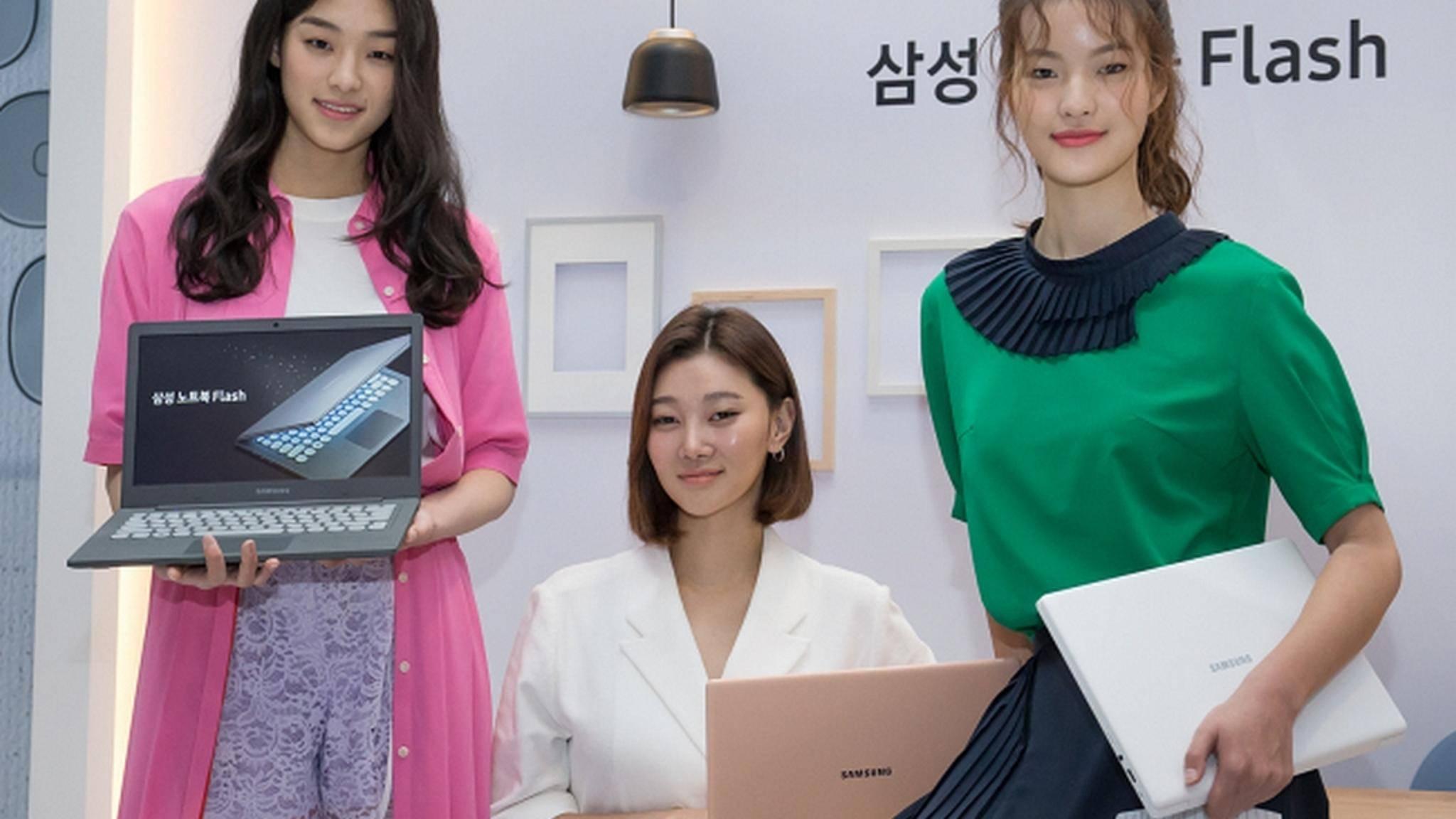 Samsung will in Zukunft auch faltbare Laptop-Displays bauen.