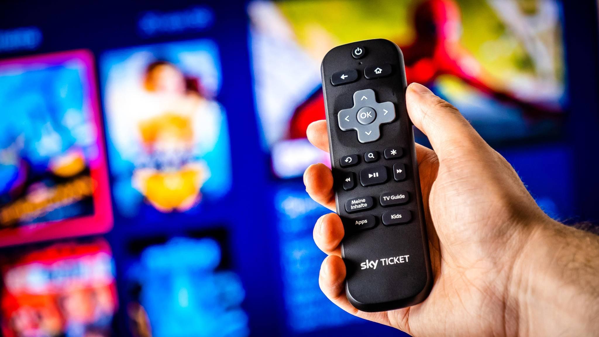 Mit dem Sky Ticket Stick nimmt der Pay-TV-Anbieter Amazon ins Visier.