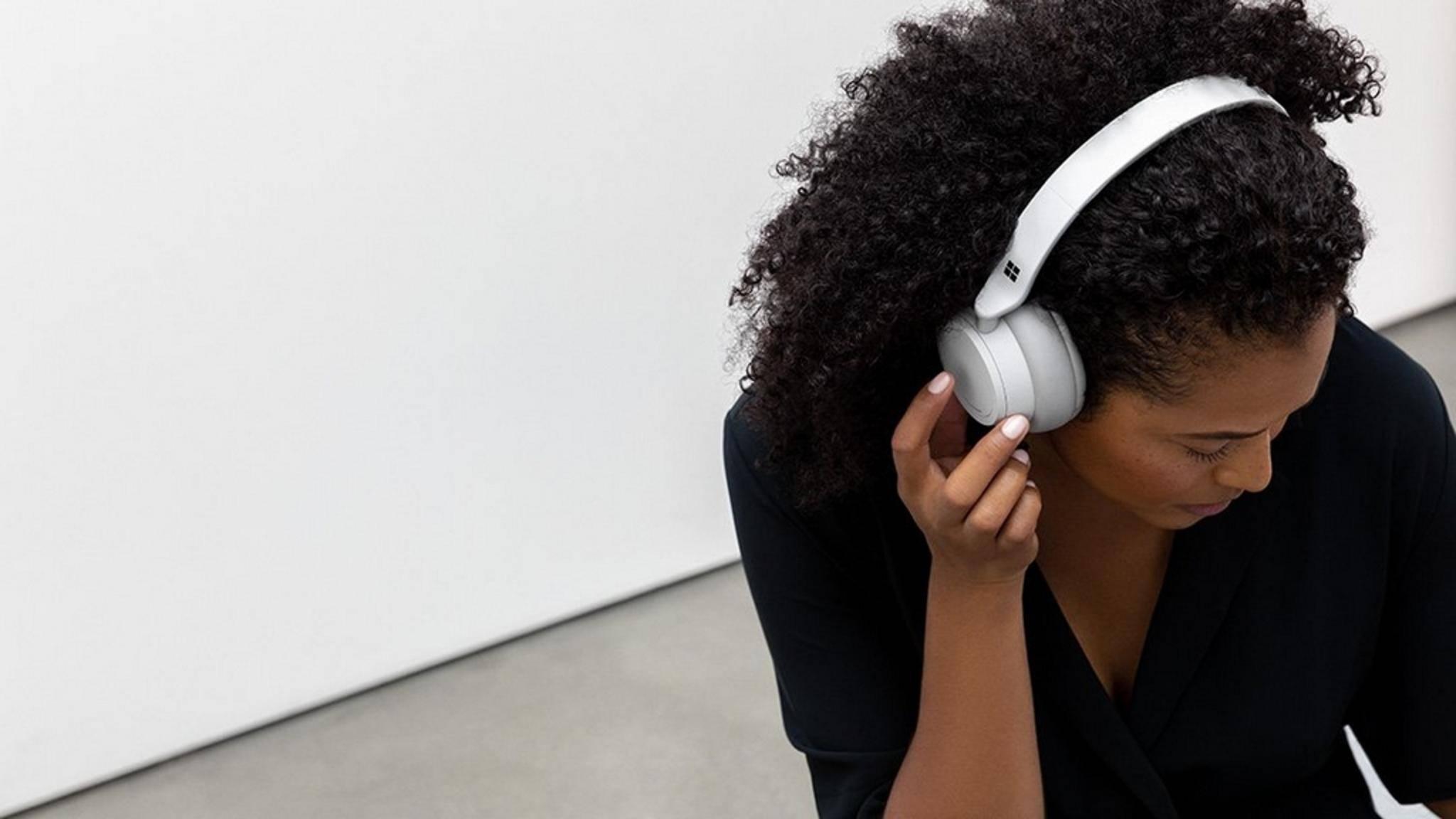 Mit den Surface Headphones greift Microsoft Bose und Co. an.