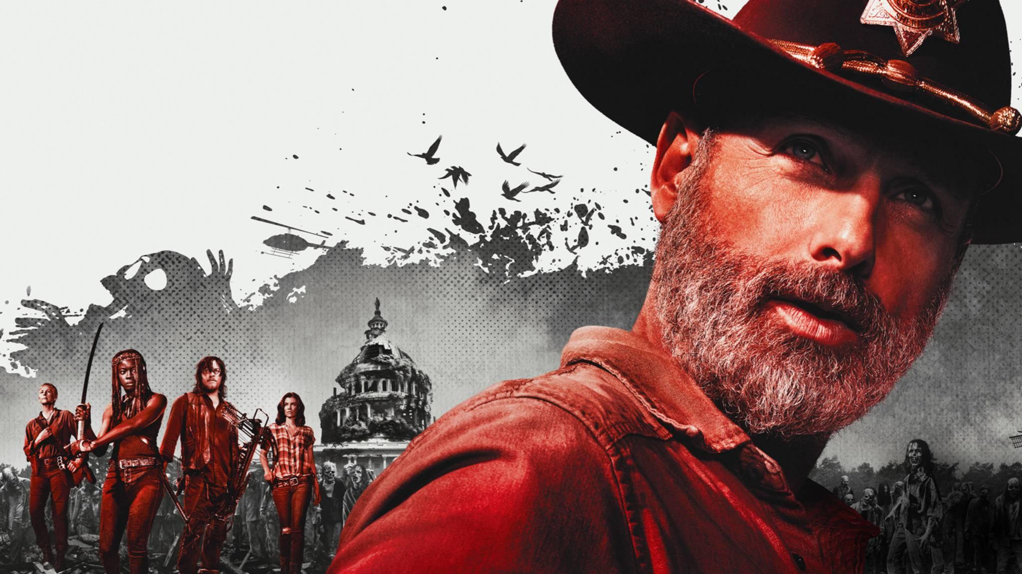 """""""The Walking Dead"""" ist zurück im Fernsehen – und zwar mit Staffel 9."""
