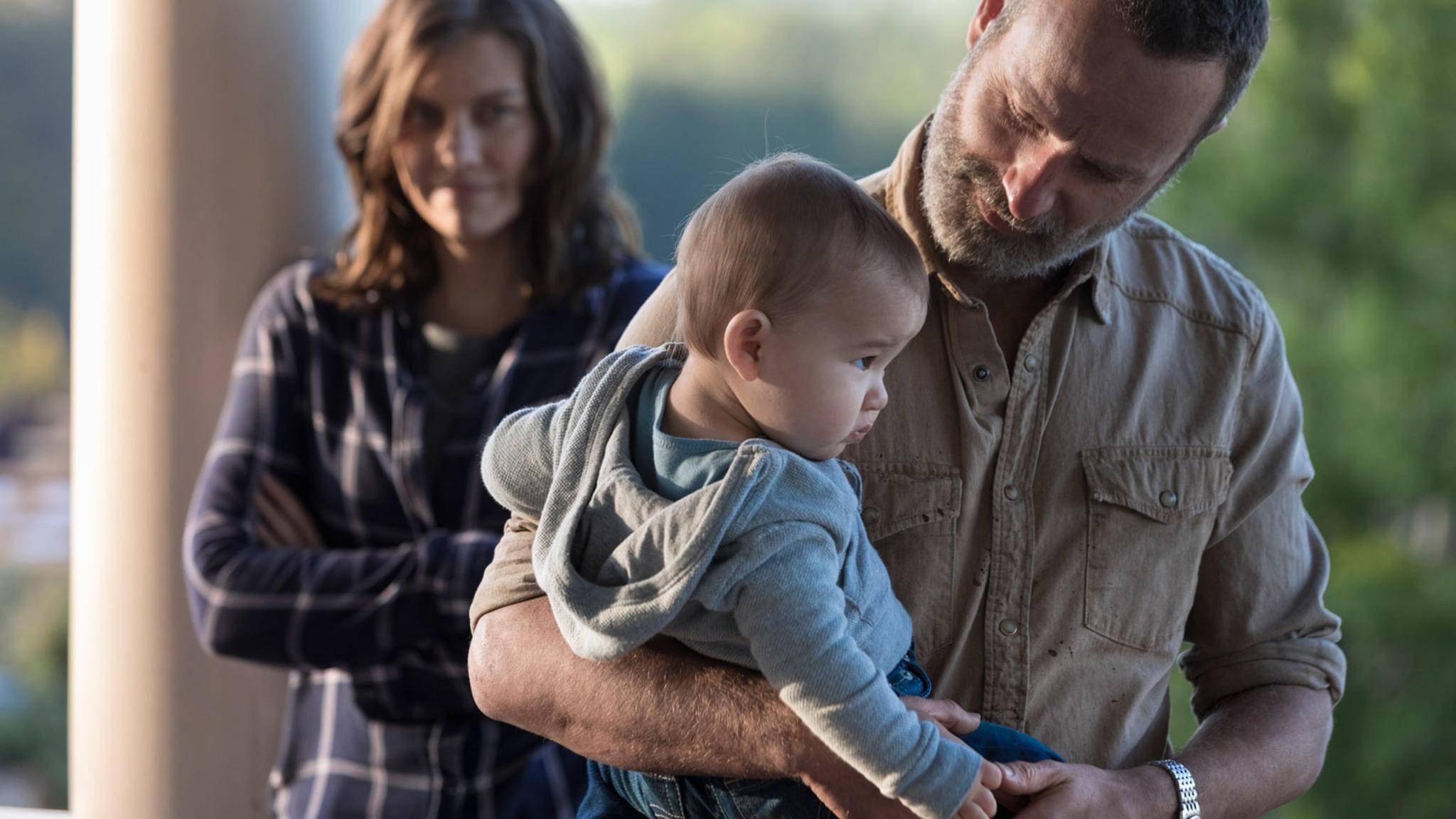 """Klein Hershel scheint längst nicht das letzte """"The Walking Dead""""-Baby gewesen zu sein."""