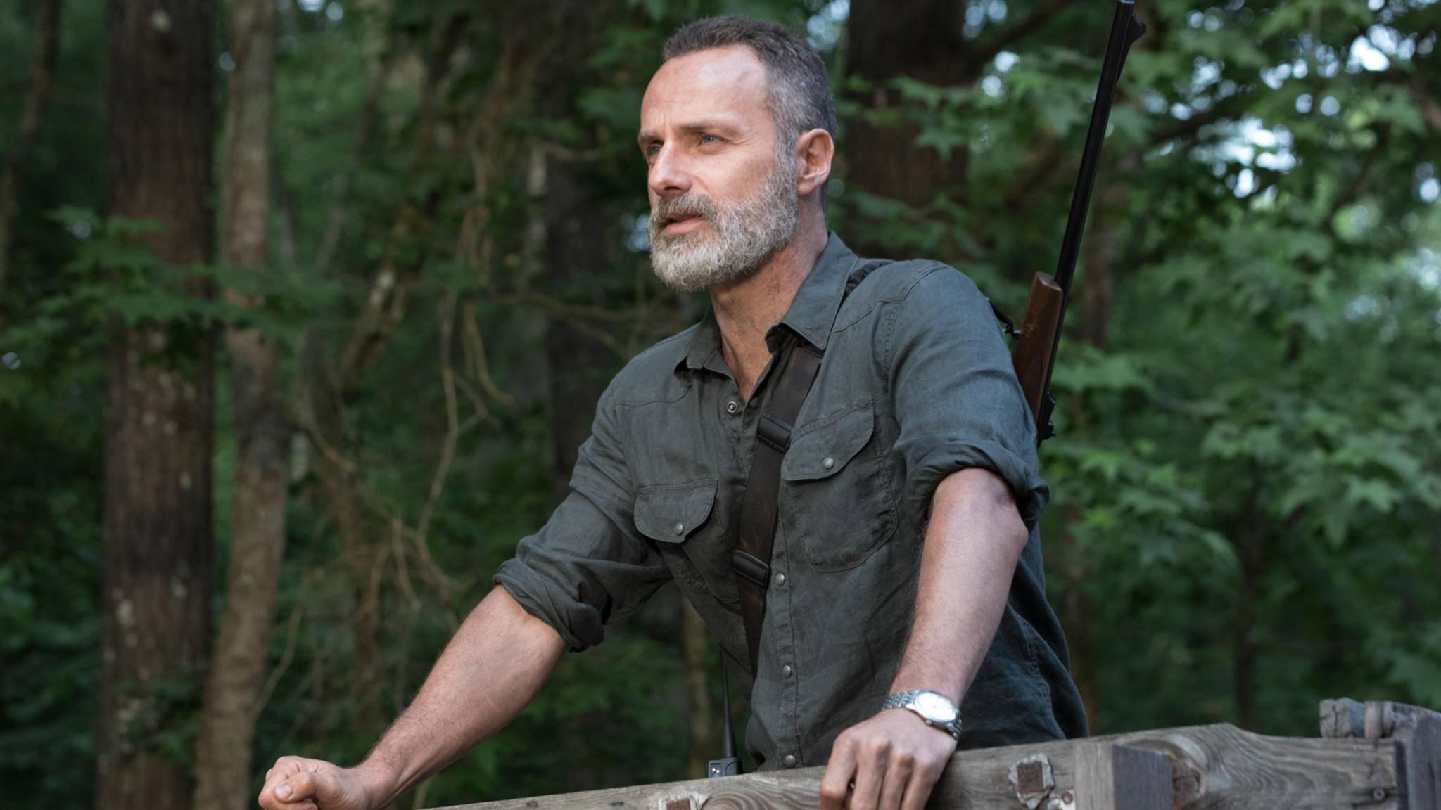 Rick (Andrew Lincoln) wird zurückkehren ...