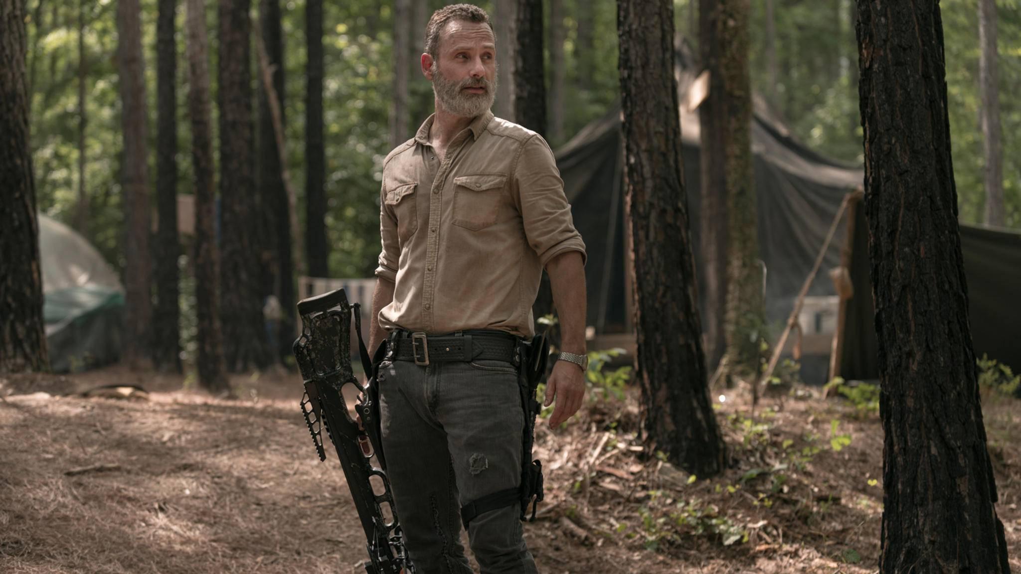 Rick und Carol hatten sich in Episode 3 von Staffel 9 doch noch mehr zu sagen ...