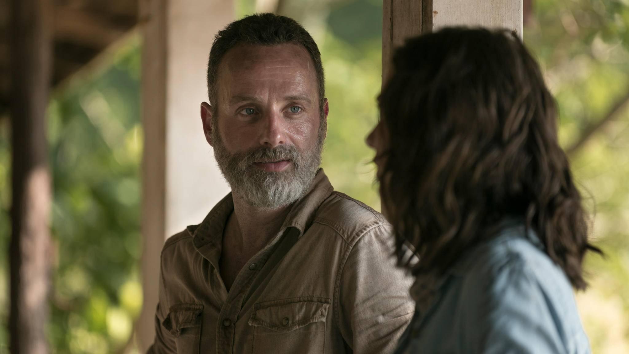 Der Abschied von Rick Grimes naht.