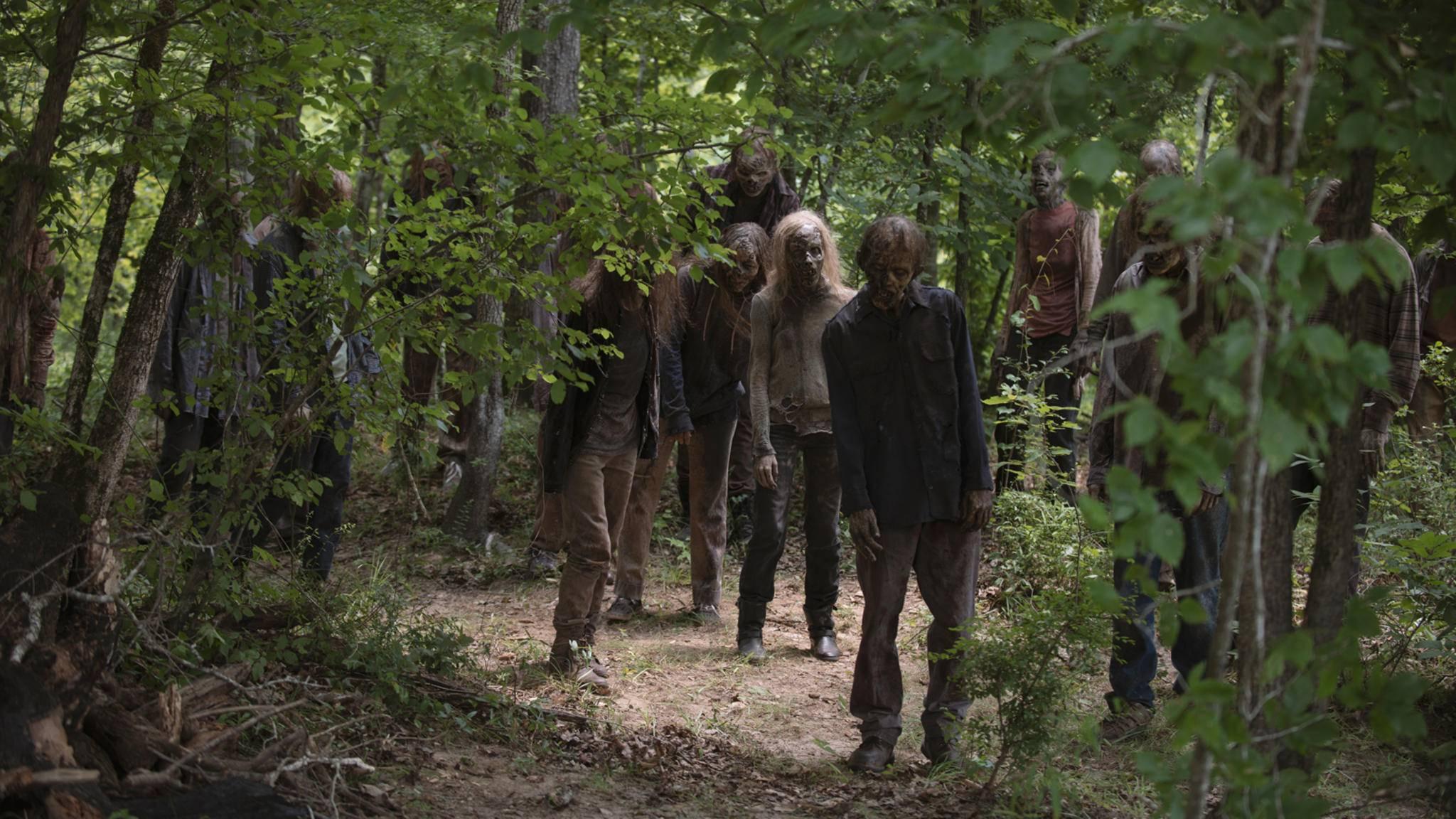 """Es sind noch mehr Zombies im Anmarsch! Die dritte """"The Walking Dead""""-Serie zeigt die Apokalypse aus neuer Perspektive."""